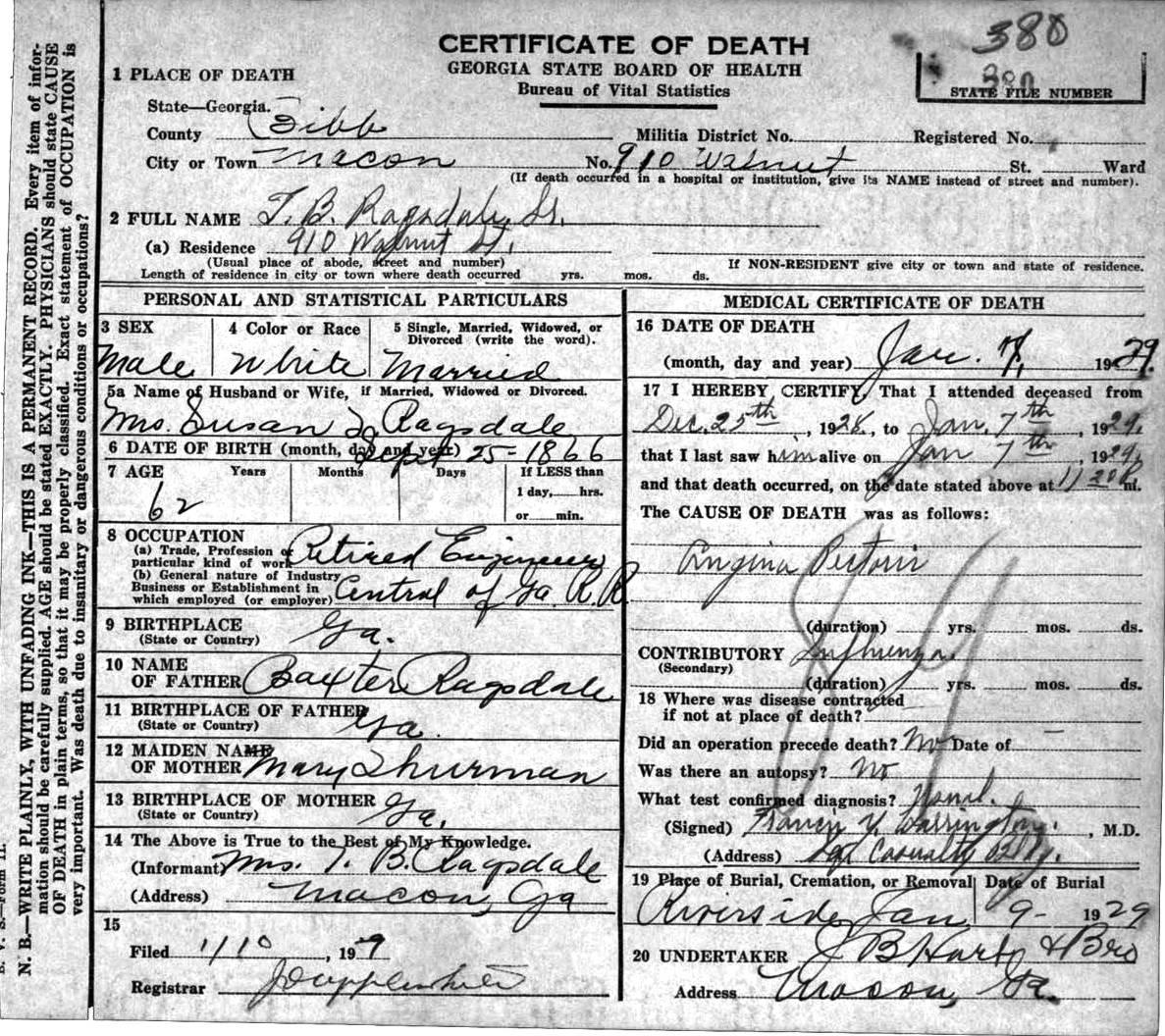 Georgia Vital Statistics Death Certificate Best Design Sertificate