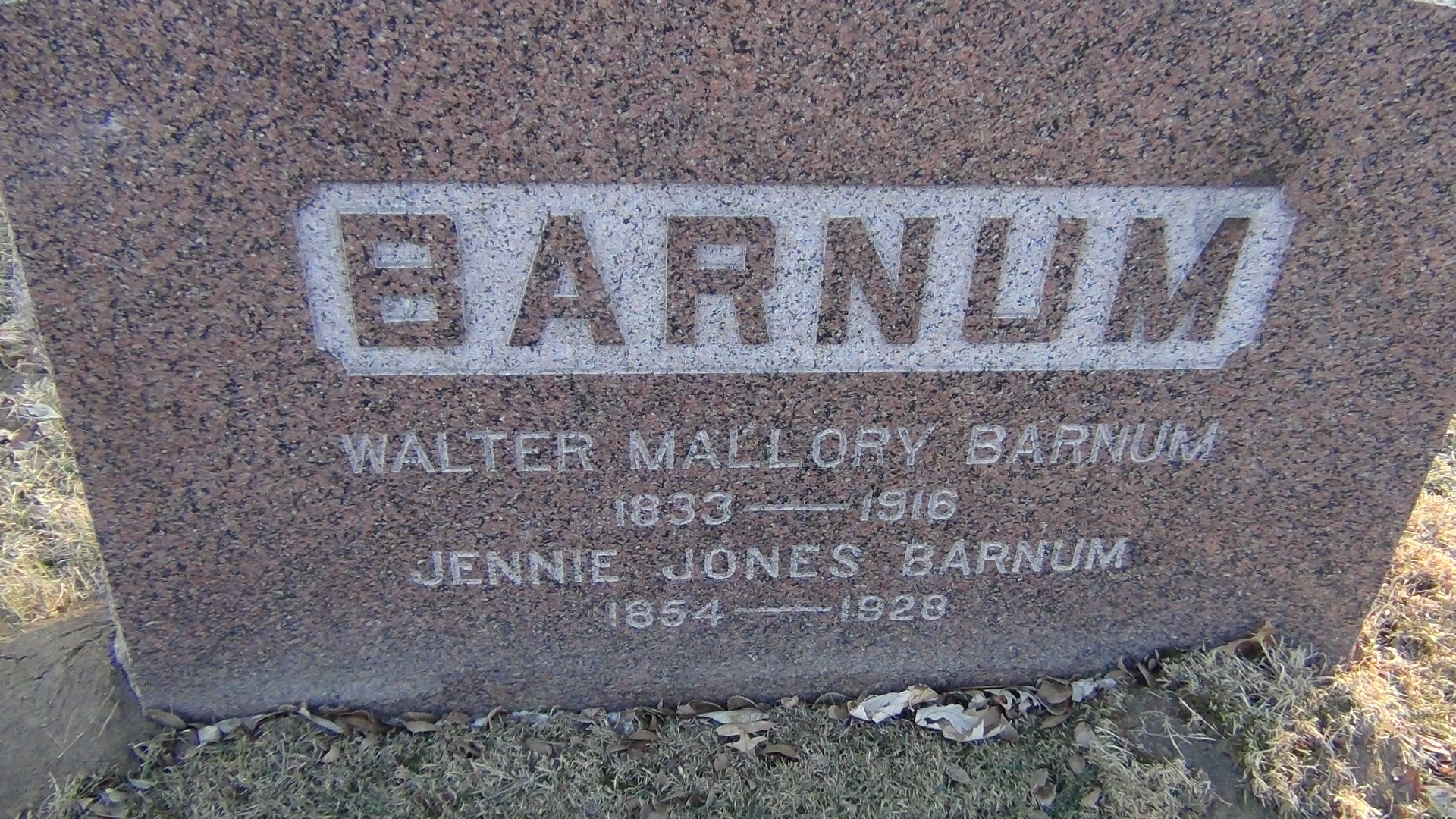 Jennie <i>Jones</i> Barnum