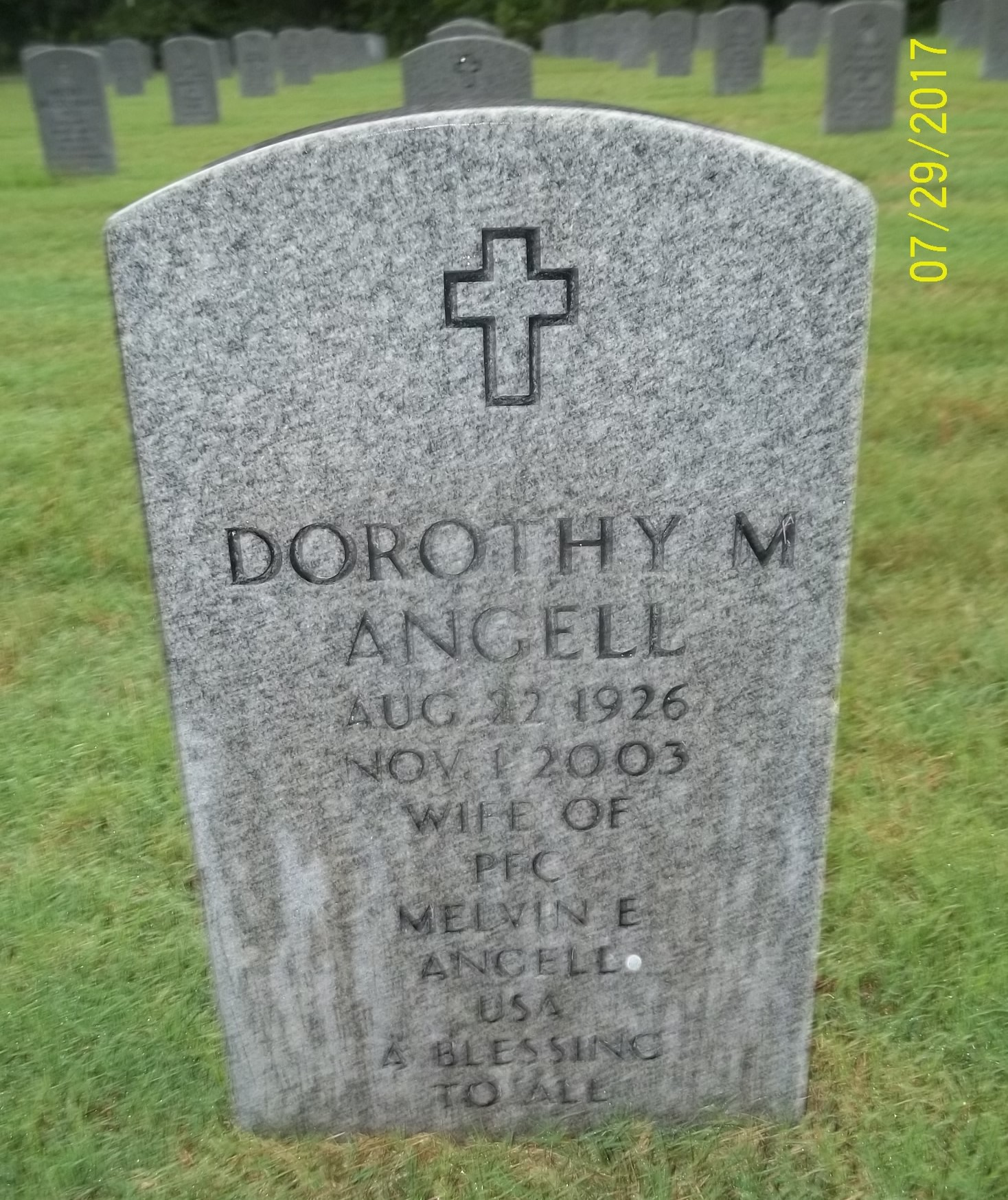 Dorothy M Kay <i>Carter</i> Angell
