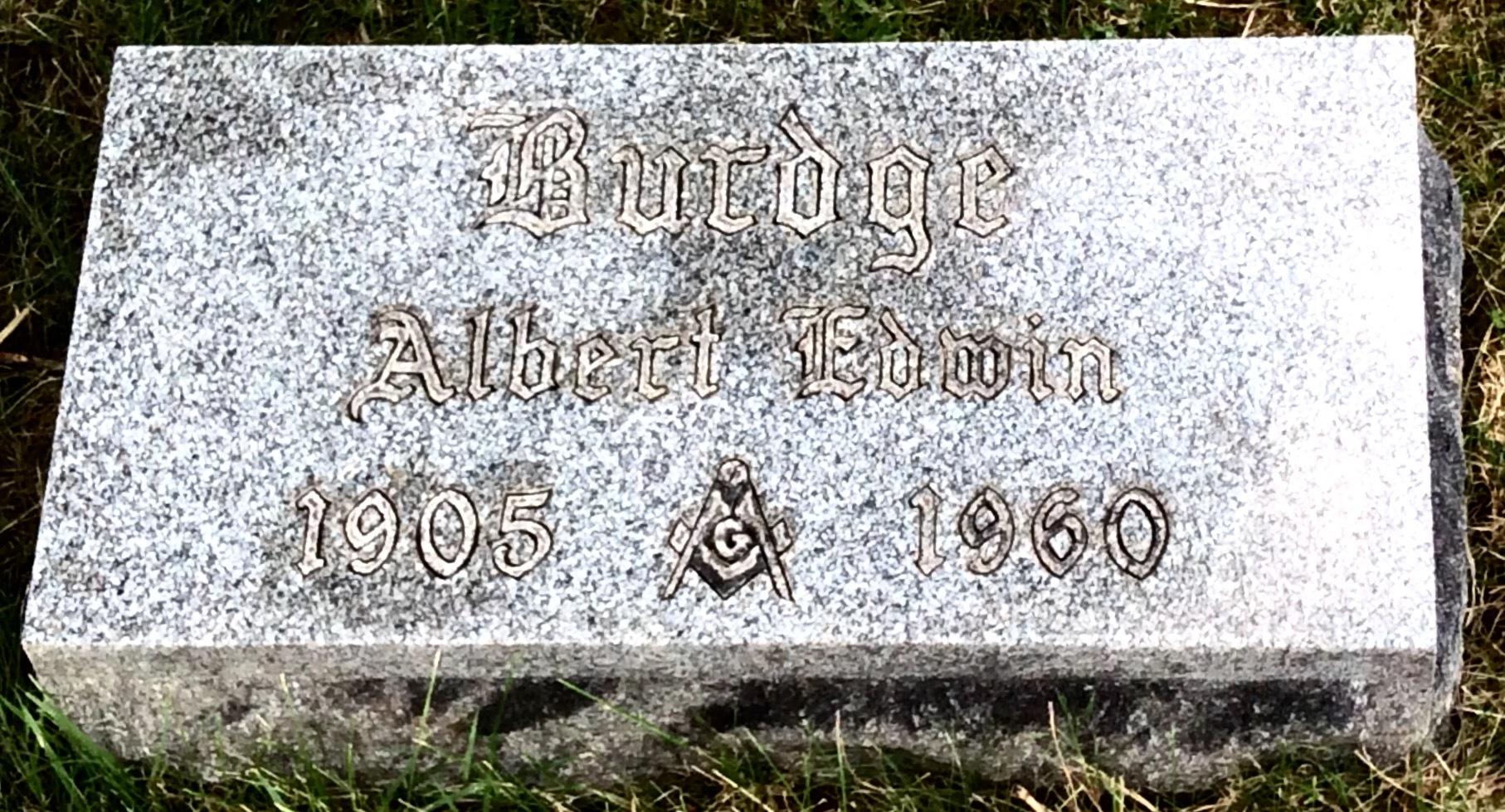 Albert Edwin Burdge