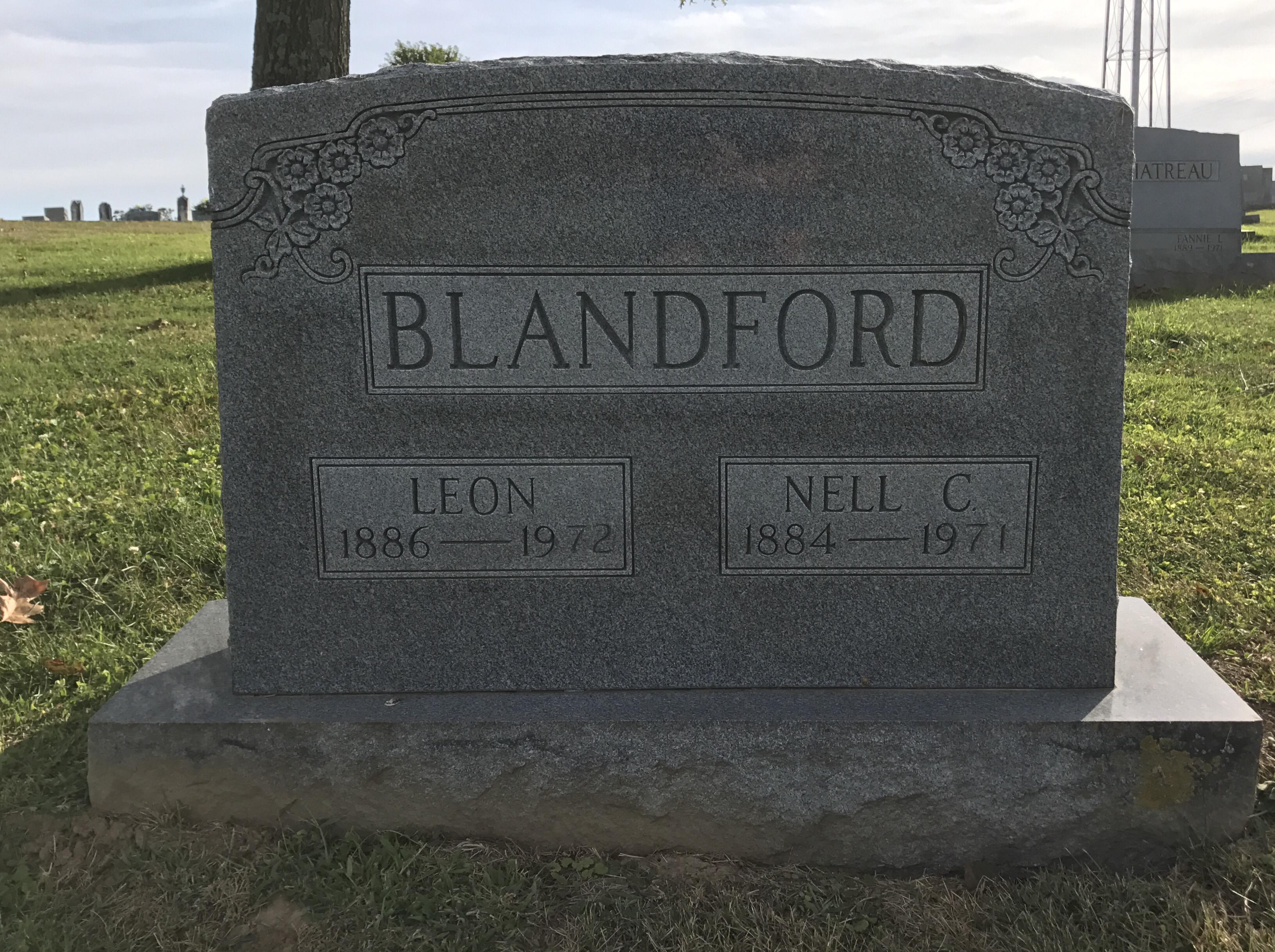 Helen Nora Nell <i>Carrico</i> Blandford