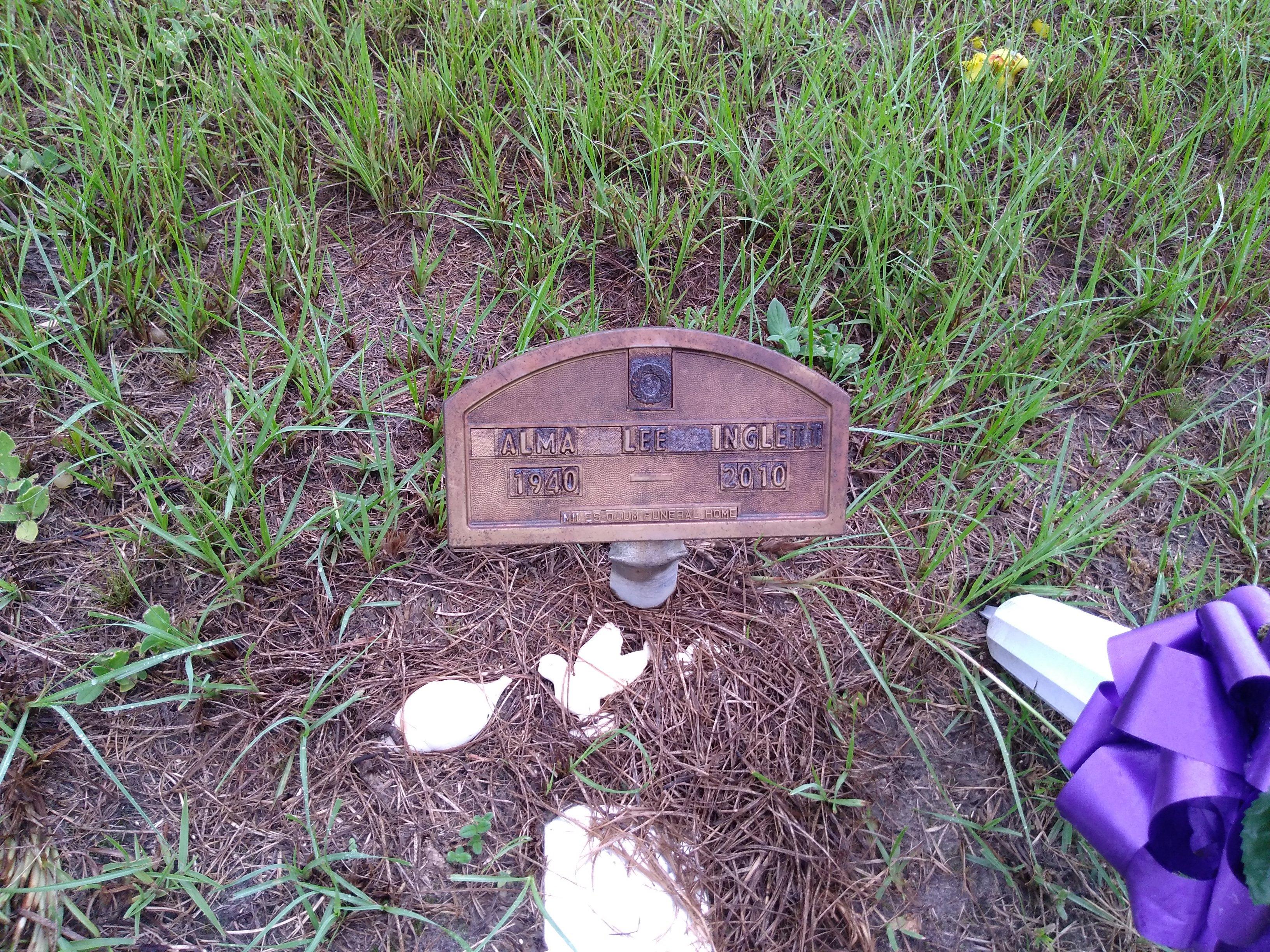 Alma Lee Sweat Inglett 1940 2010 Find A Grave Memorial