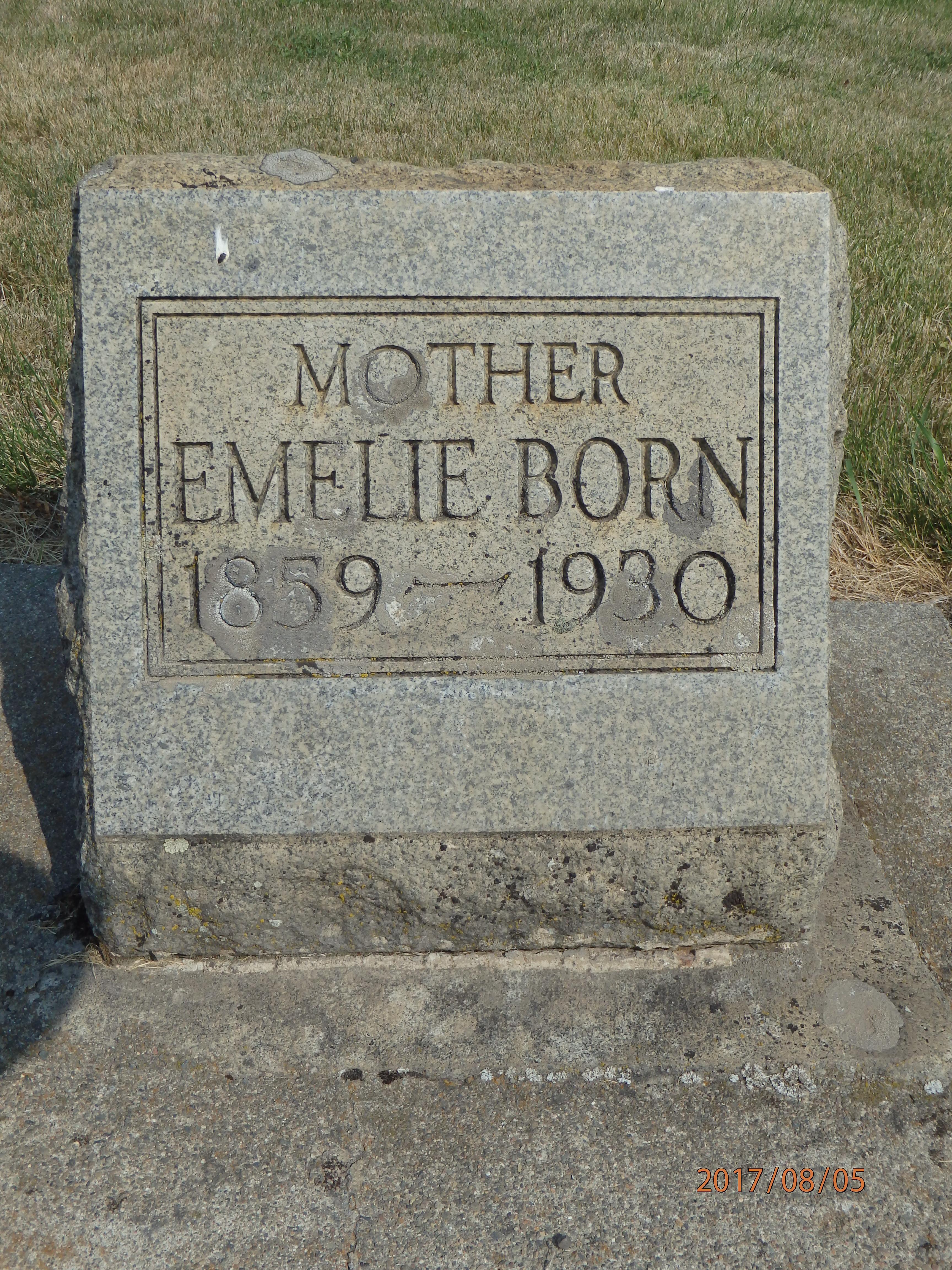 Emelie <i>Maessner</i> Born