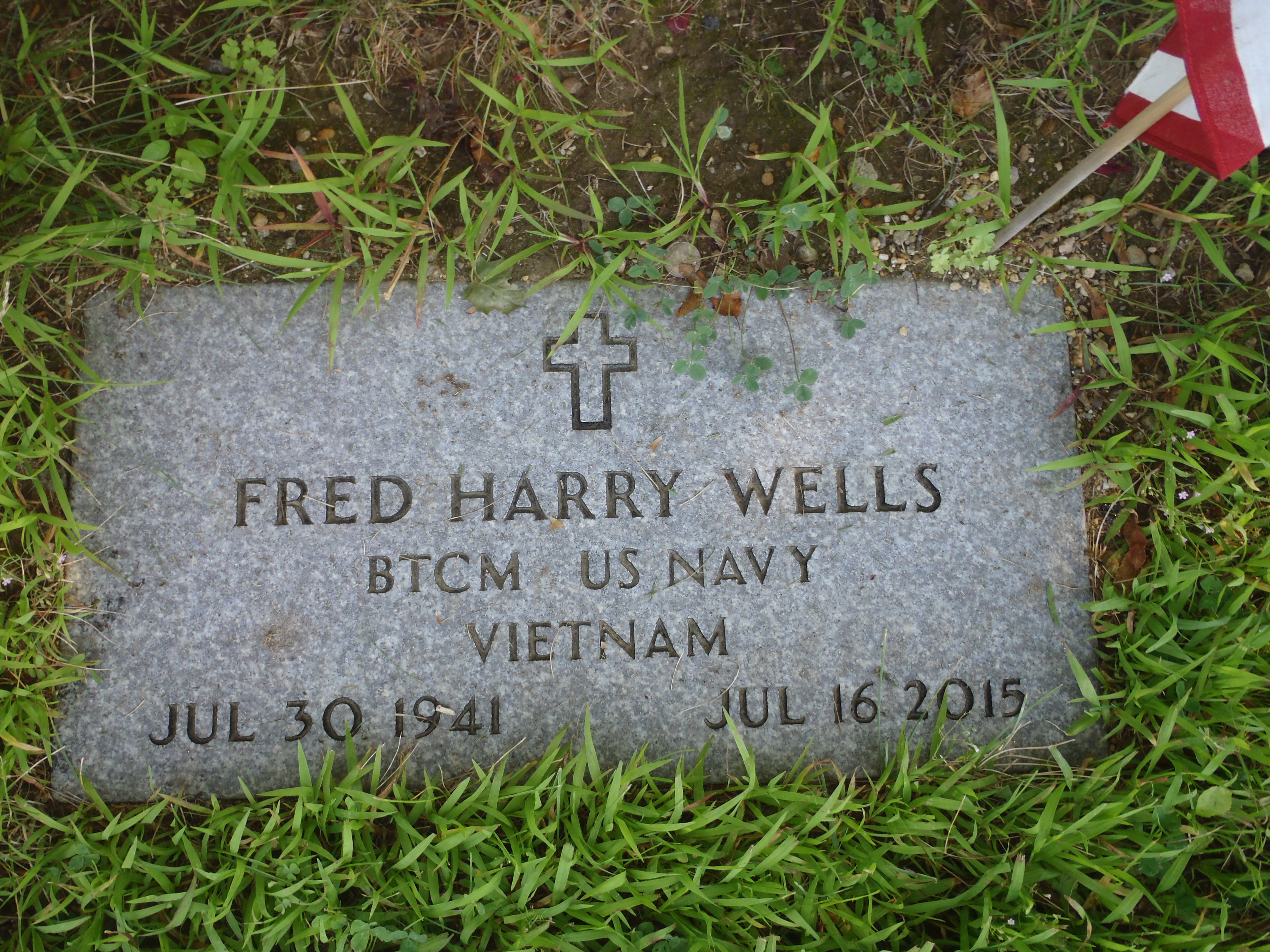 CPO Fred Harry Wells (1941-2015) - Find A Grave Memorial