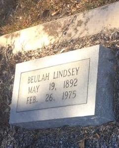 Beulah J <i>White</i> Lindsey
