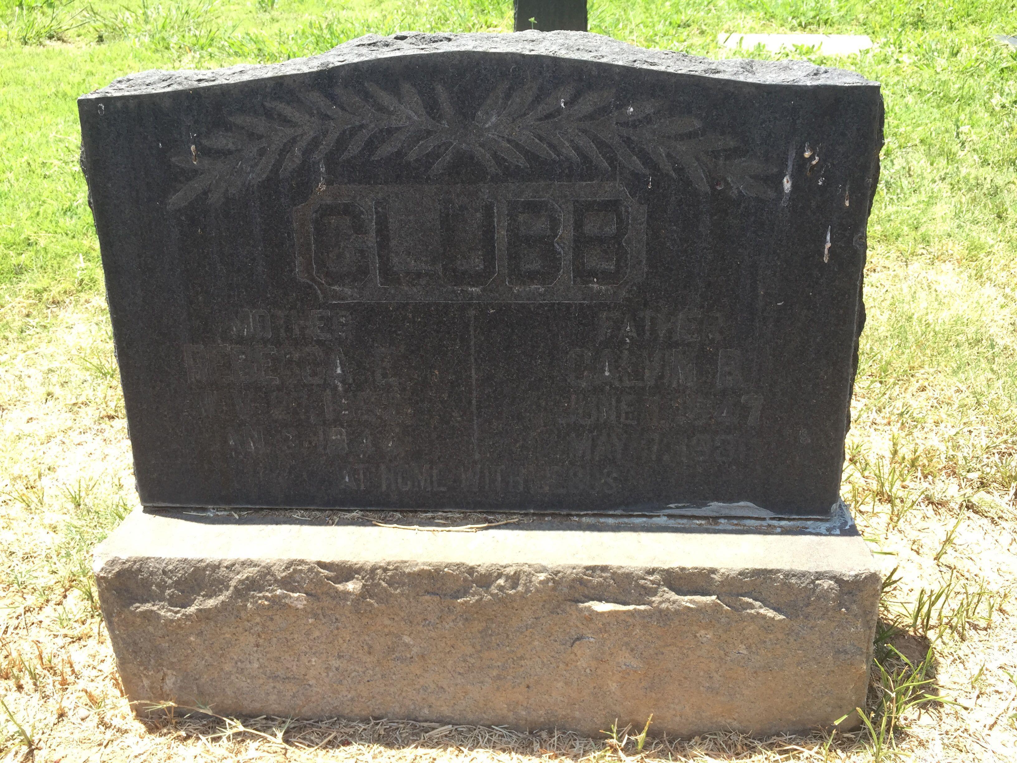 Rebecca E. <i>Reed</i> Clubb