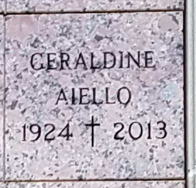 Geraldine Sylvia <i>Glowczewski</i> Aiello