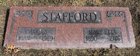 Mary Etta Etta <i>Davidson</i> Stafford
