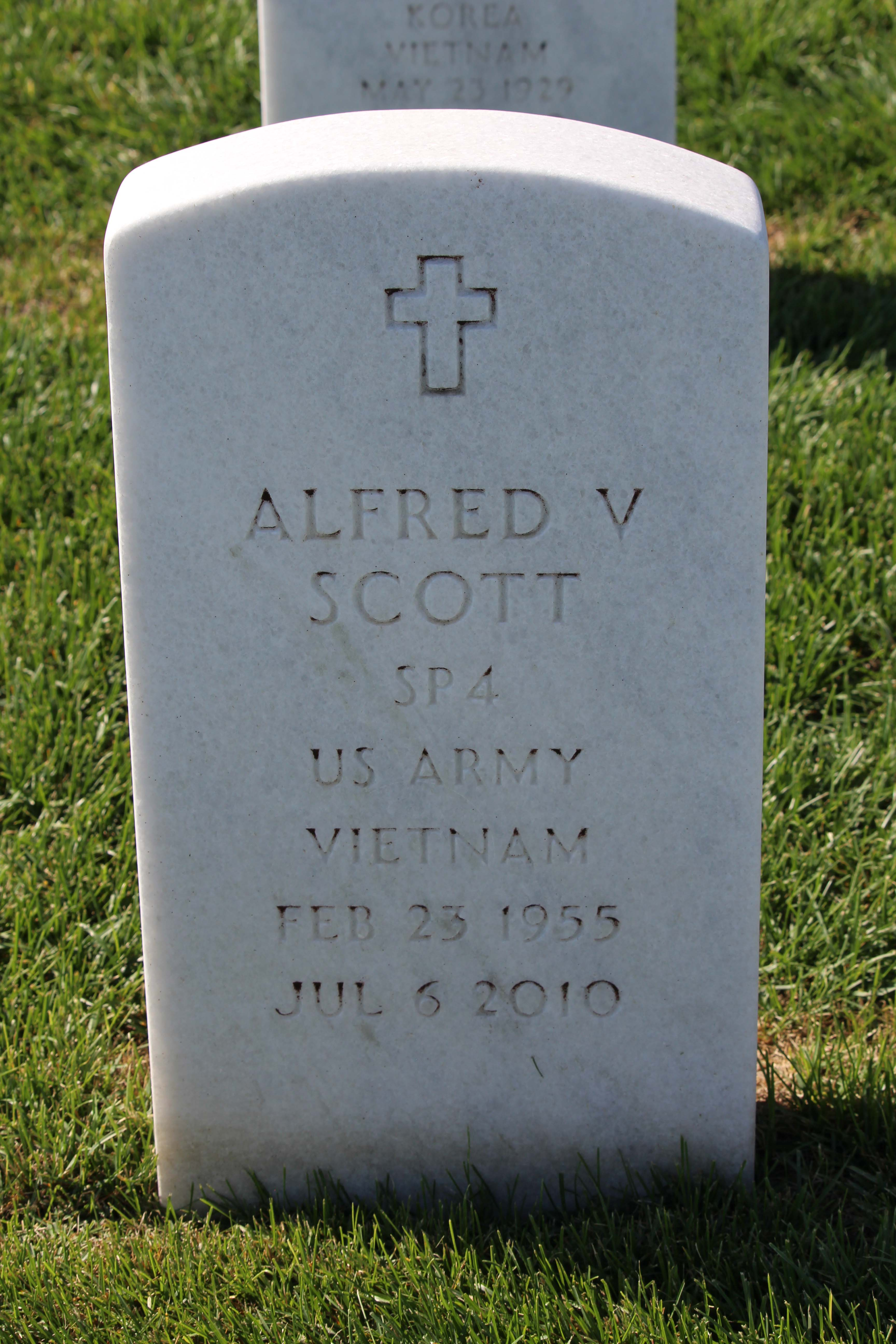 Alfred V Scott