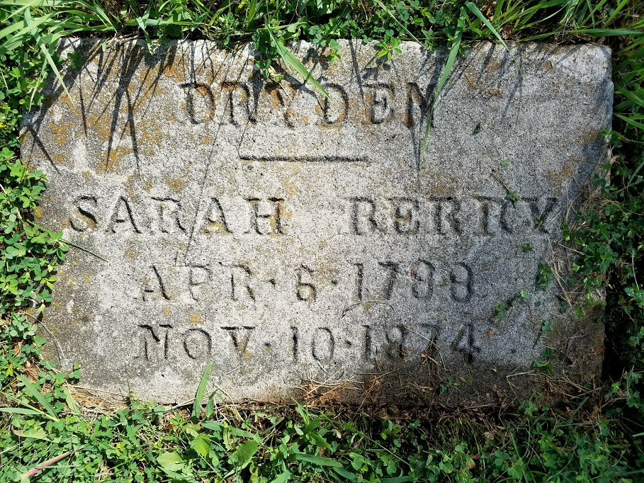 Sarah Sharp <i>Berry</i> Dryden