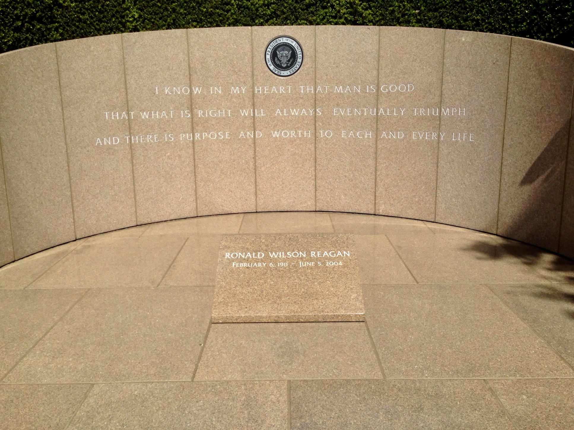 Image result for reagan grave