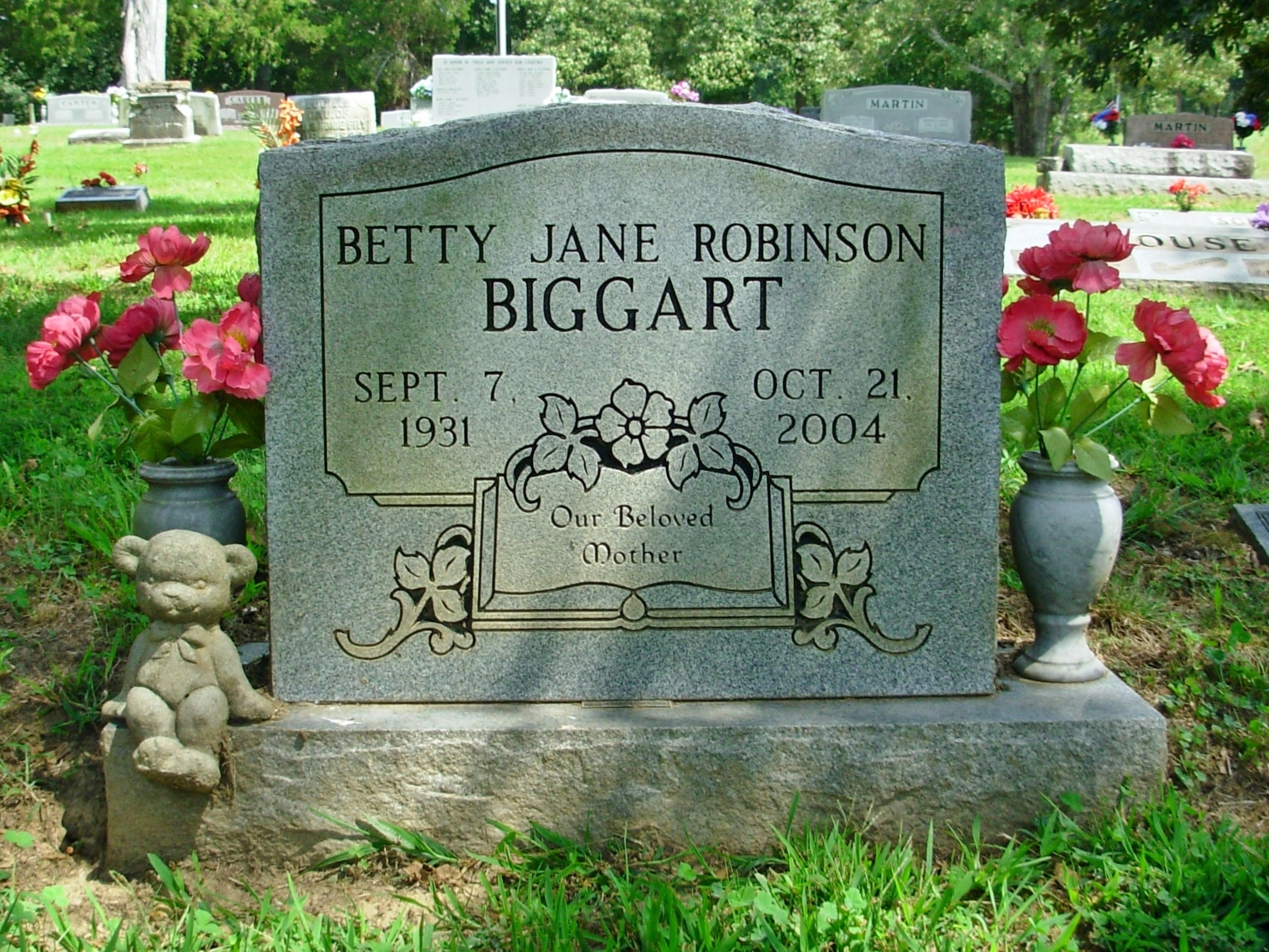 Betty Jane <i>Robinson</i> Biggart