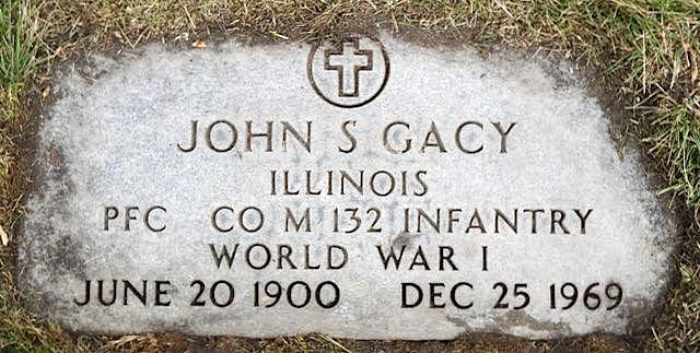 John Stanley Gacy (1900-1969) - Find A Grave Memorial