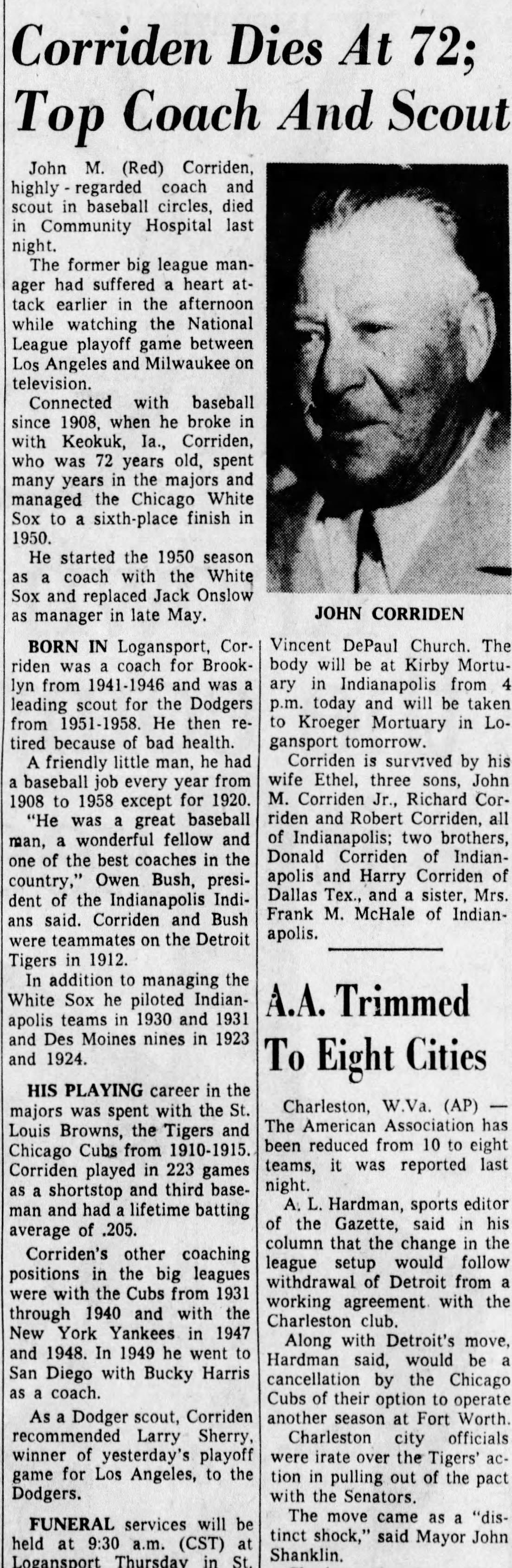 John Michael Red Corriden