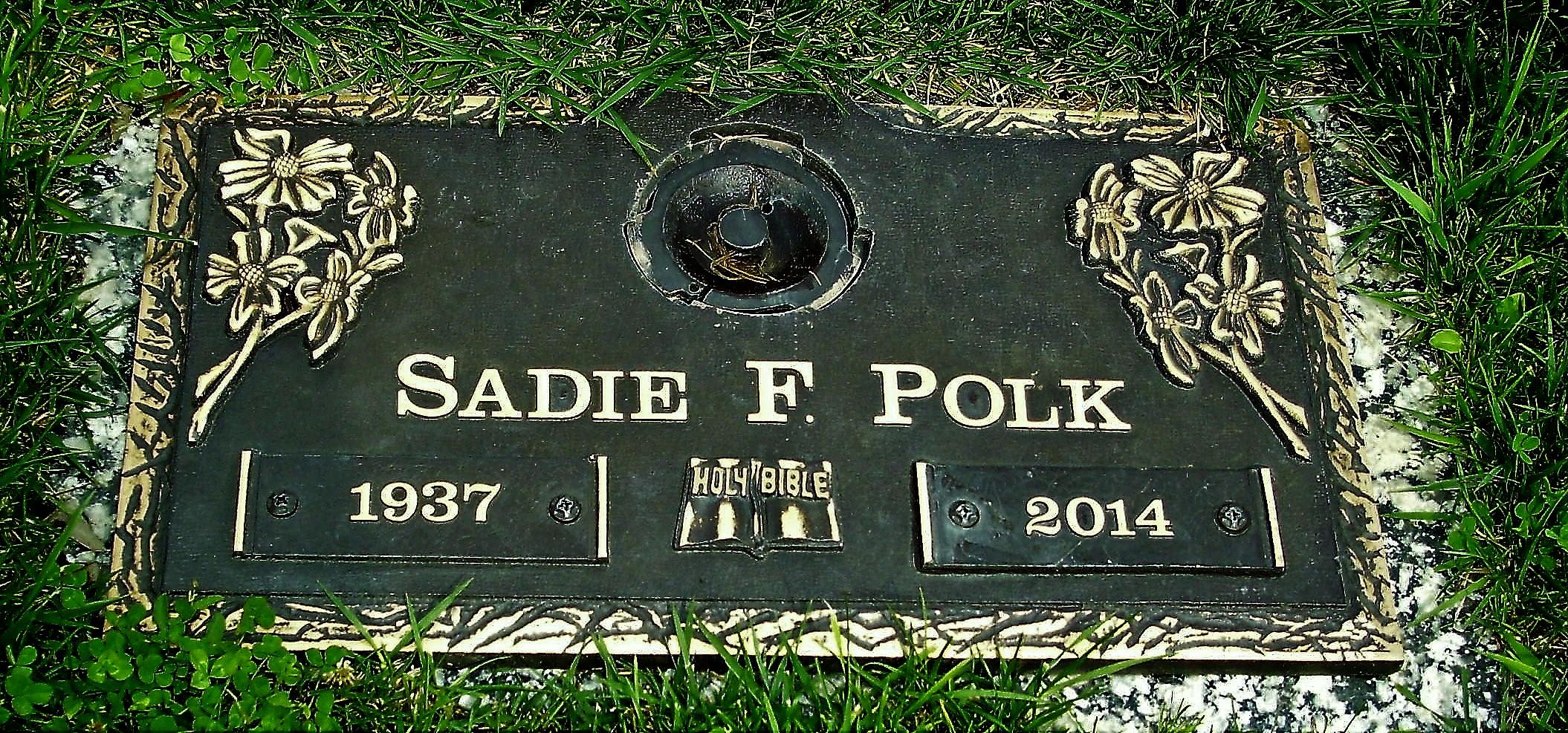 Sadie Faye <i>Ray</i> Polk