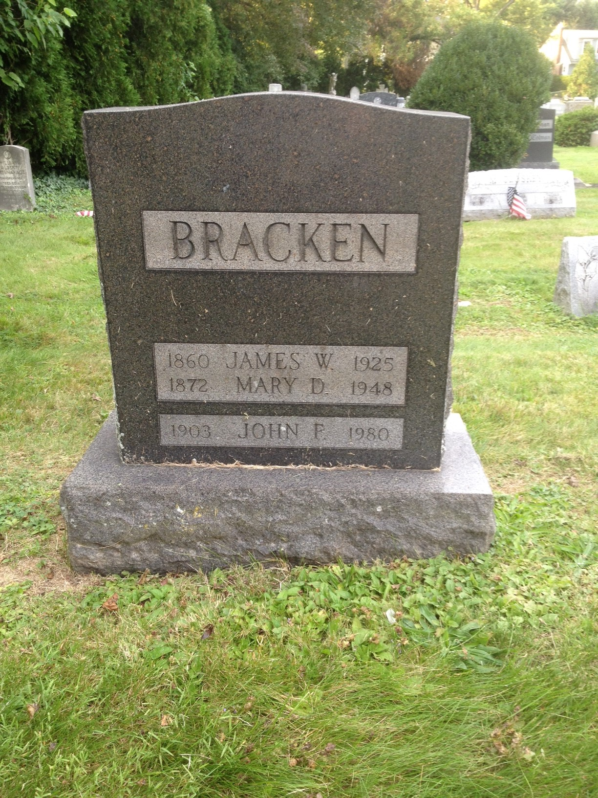 Mary <i>Downs</i> Bracken