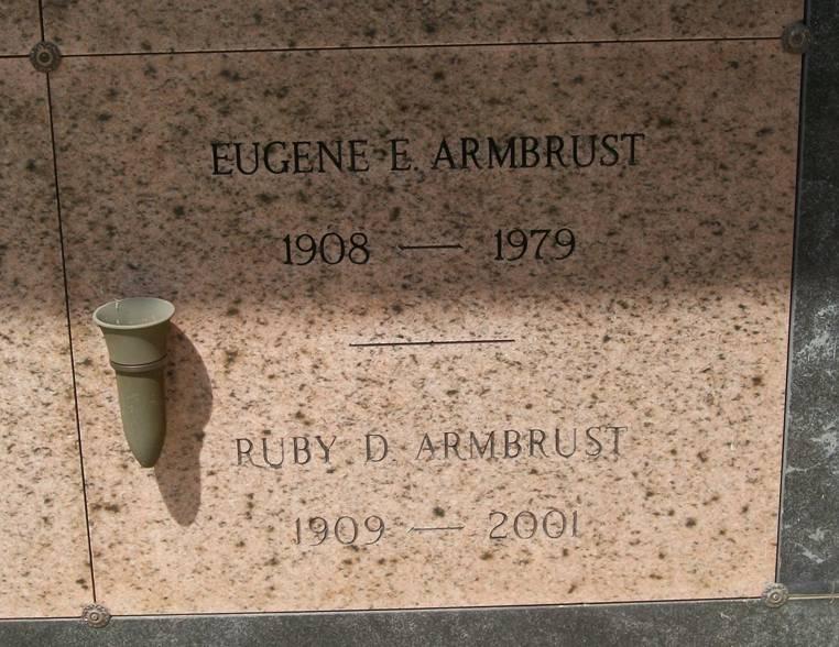 Eugene Edward Armbrust