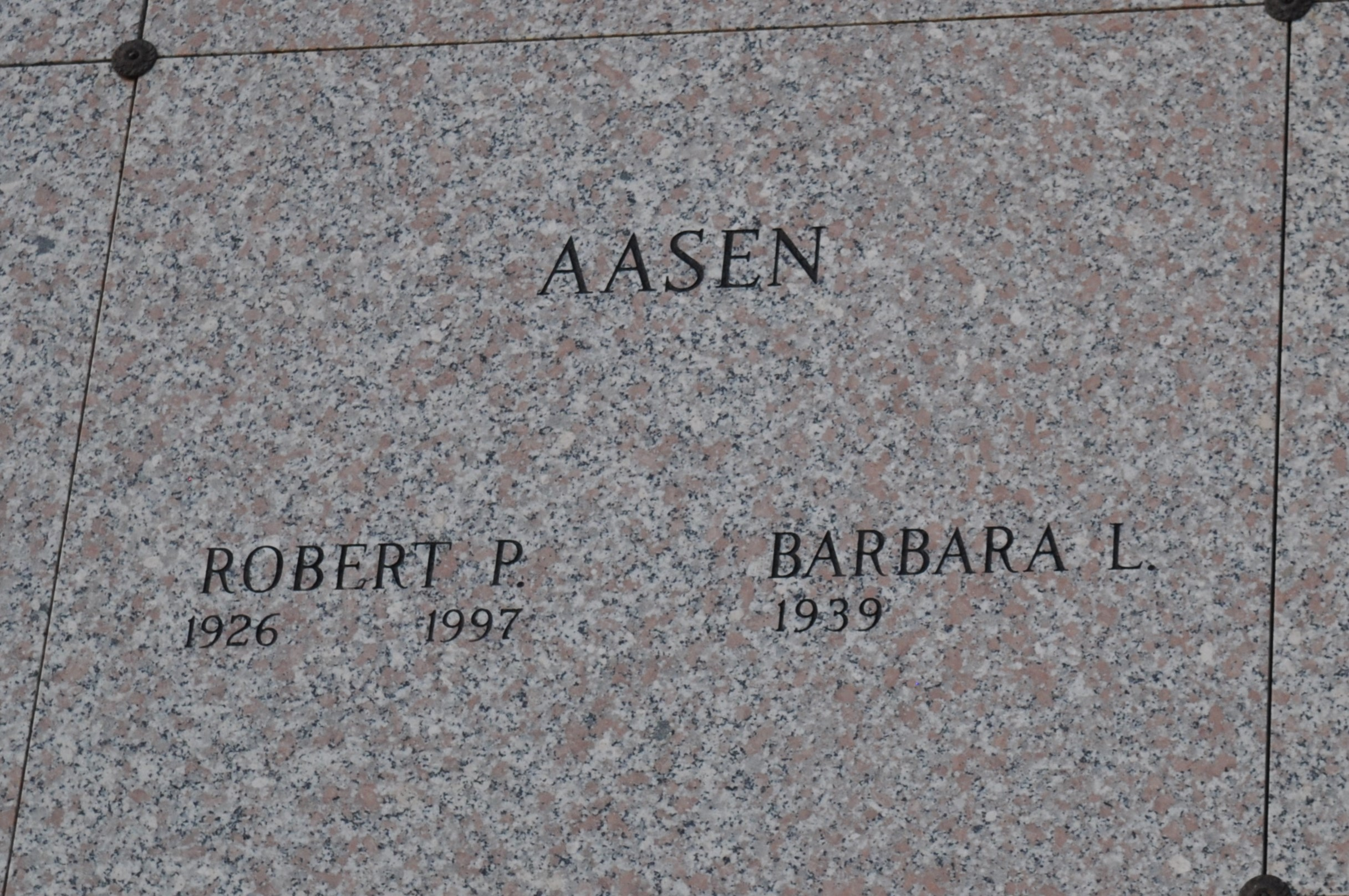 Robert P Aasen