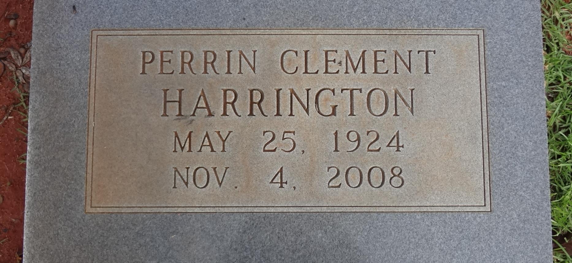 Perrin Clement Harrington