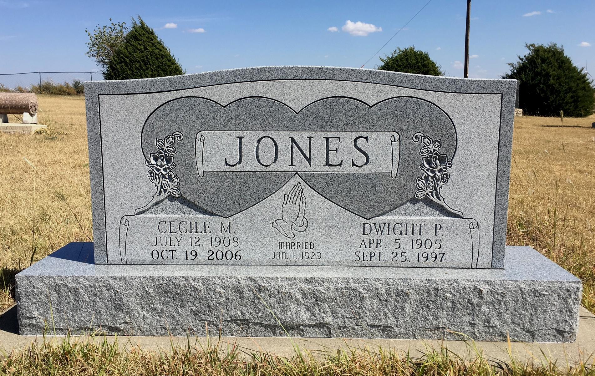 Cecile Maude <i>Ramsay</i> Jones