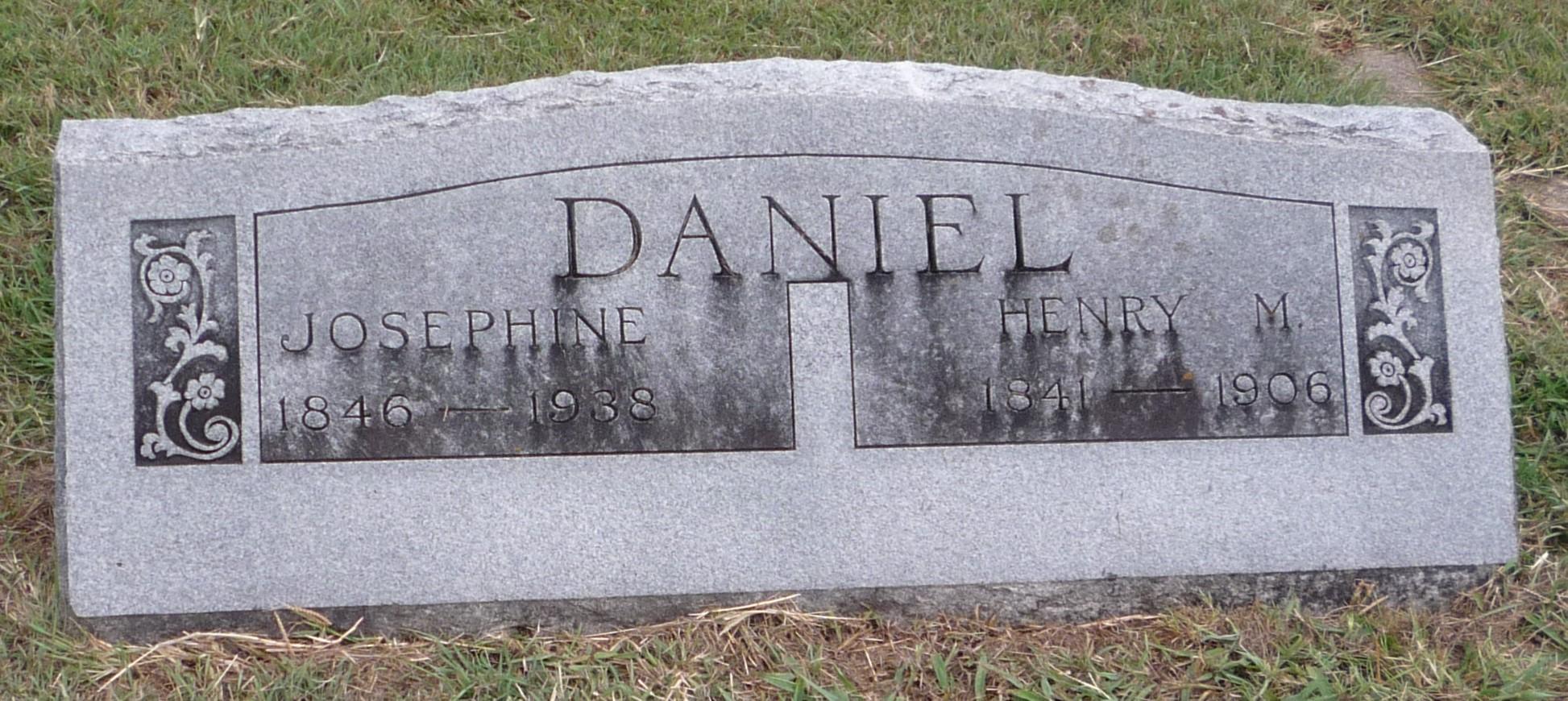 Josephine <i>Hagin</i> Daniel