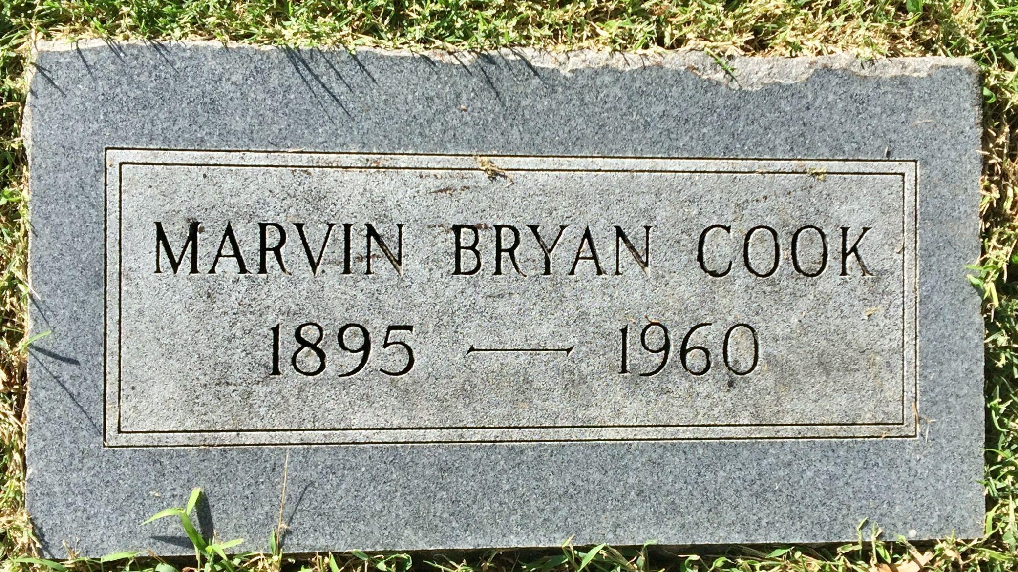 Marvin Bryan Cook