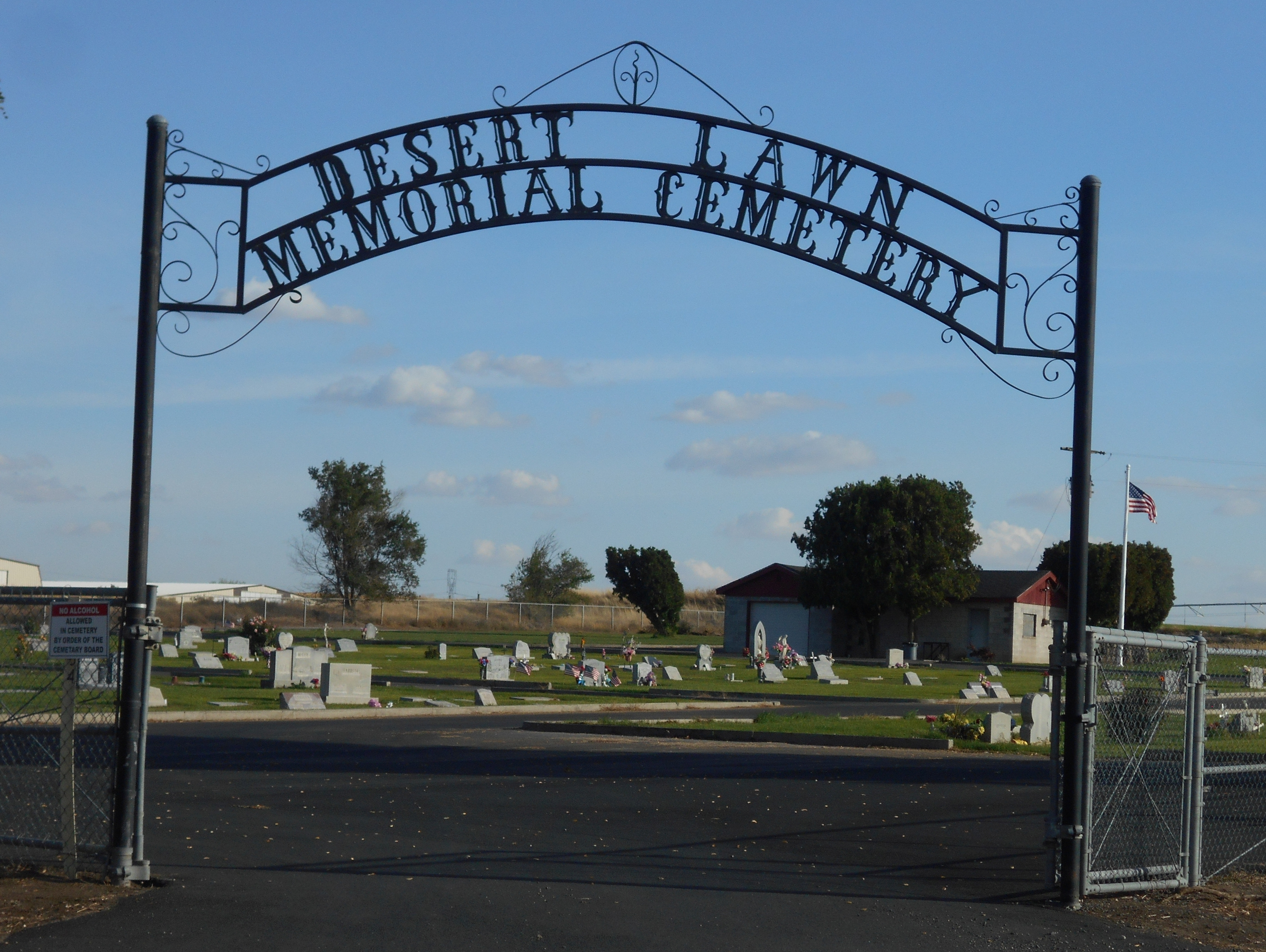 Irrigon Oregon Map.Desert Lawn Memorial Cemetery In Irrigon Oregon Find A Grave Cemetery