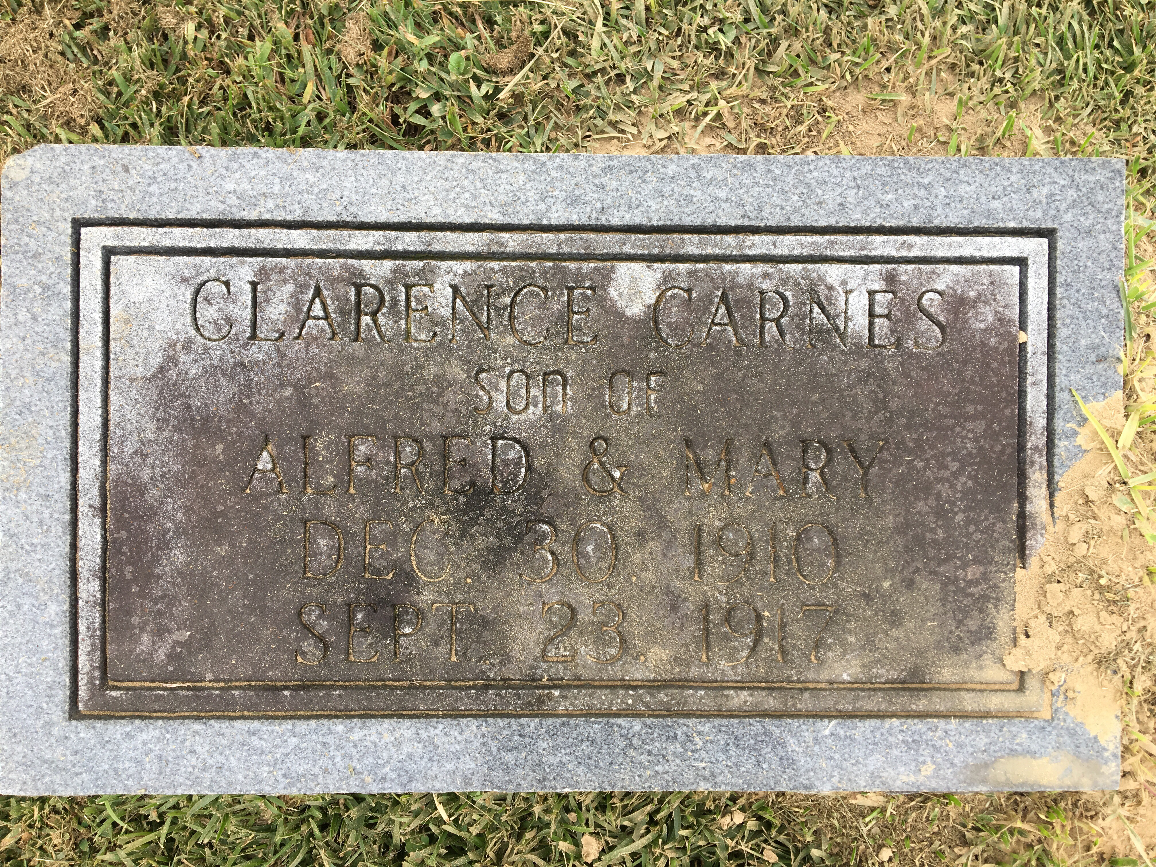 Clarence Carnes (1910-1917) - ...