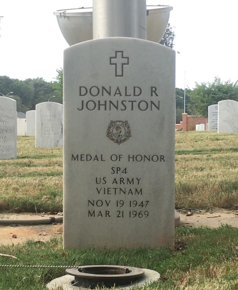 SPC Donald Ray Johnston