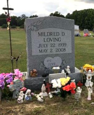 Mildred Dolores <i>Jeter</i> Loving