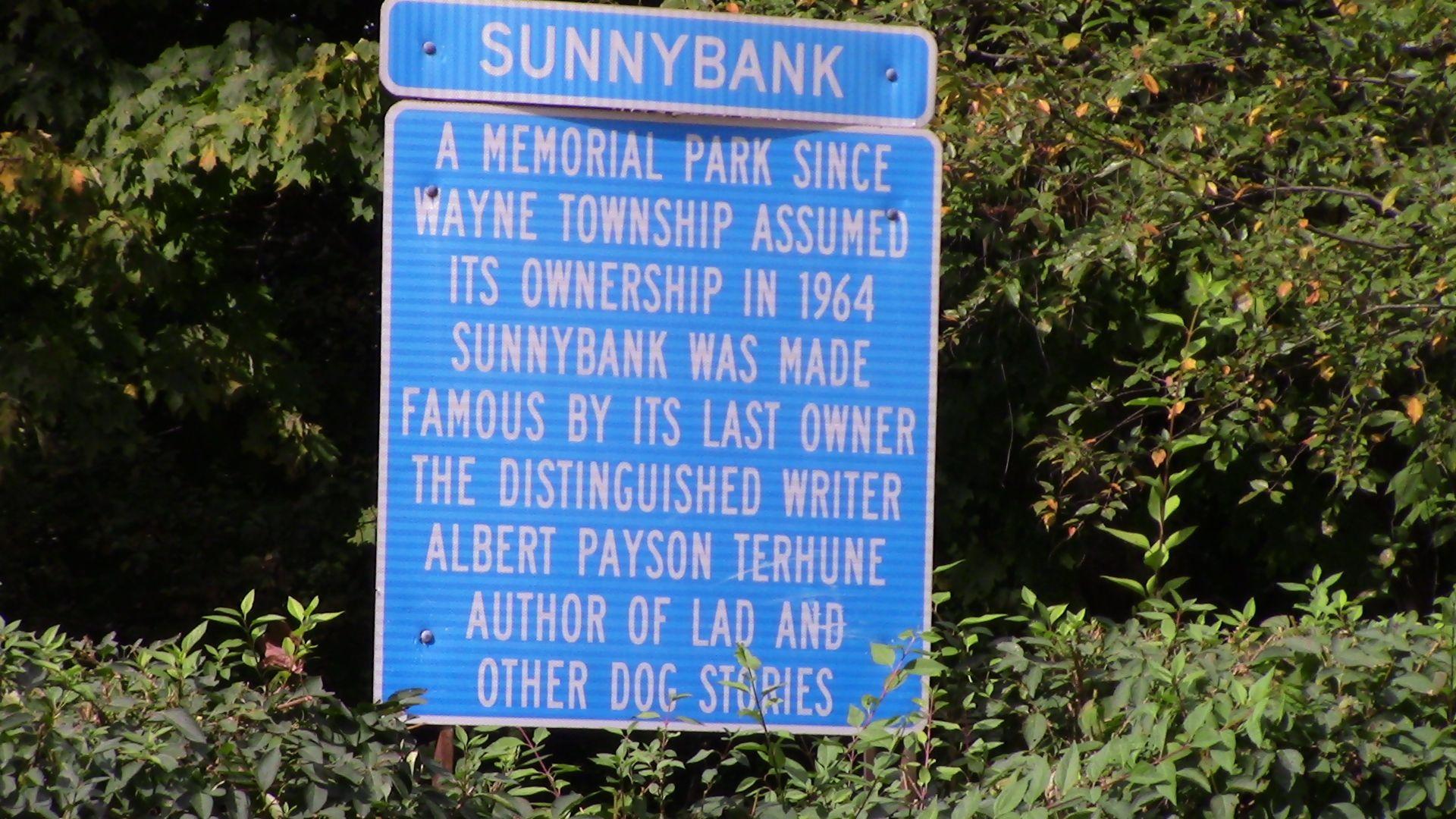 Sunnybank, Terhune Family Estate