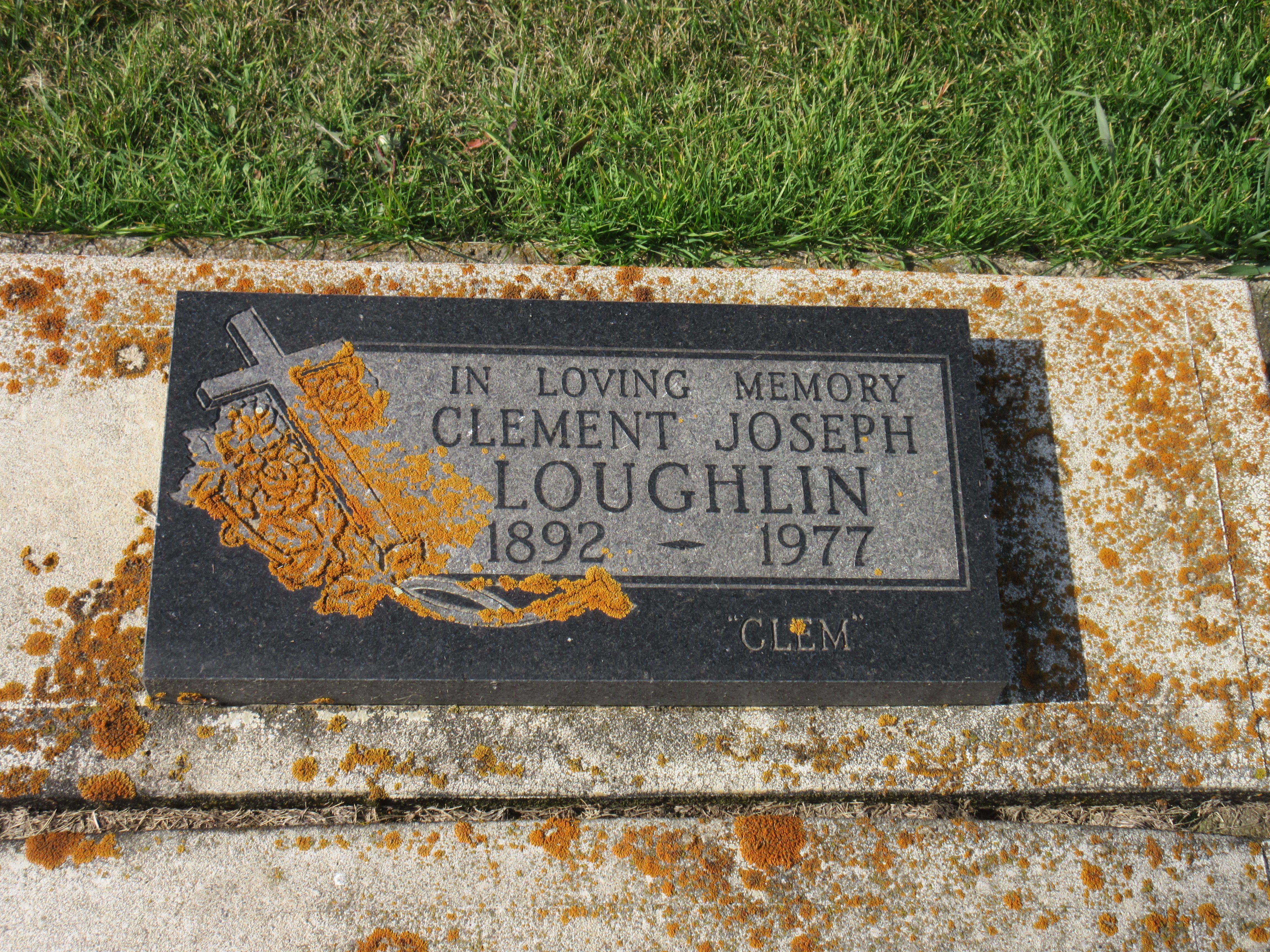 Clement Joseph Clem Loughlin