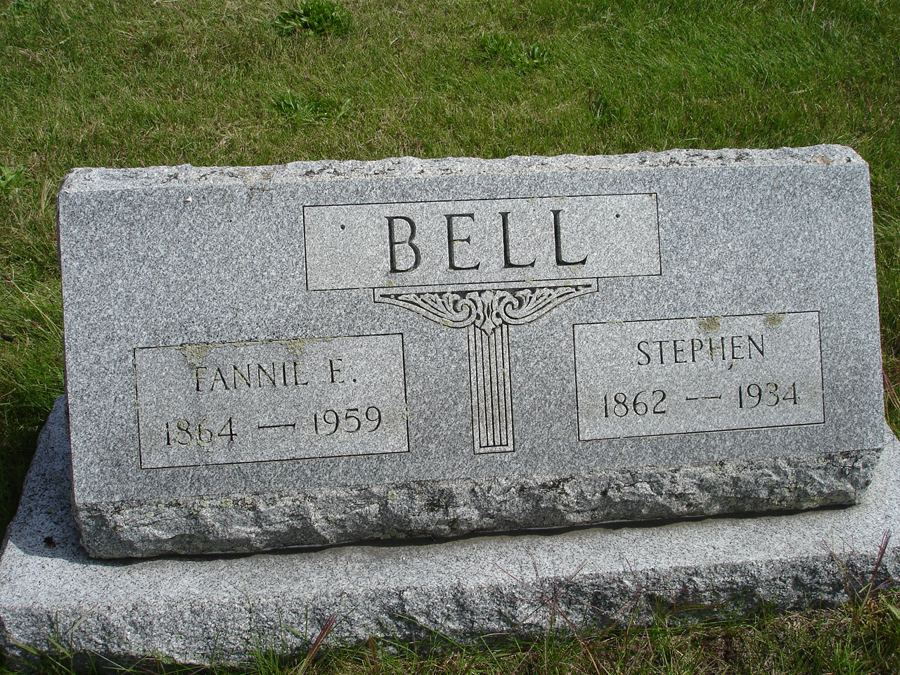 Fannie E. <i>Betz</i> Bell