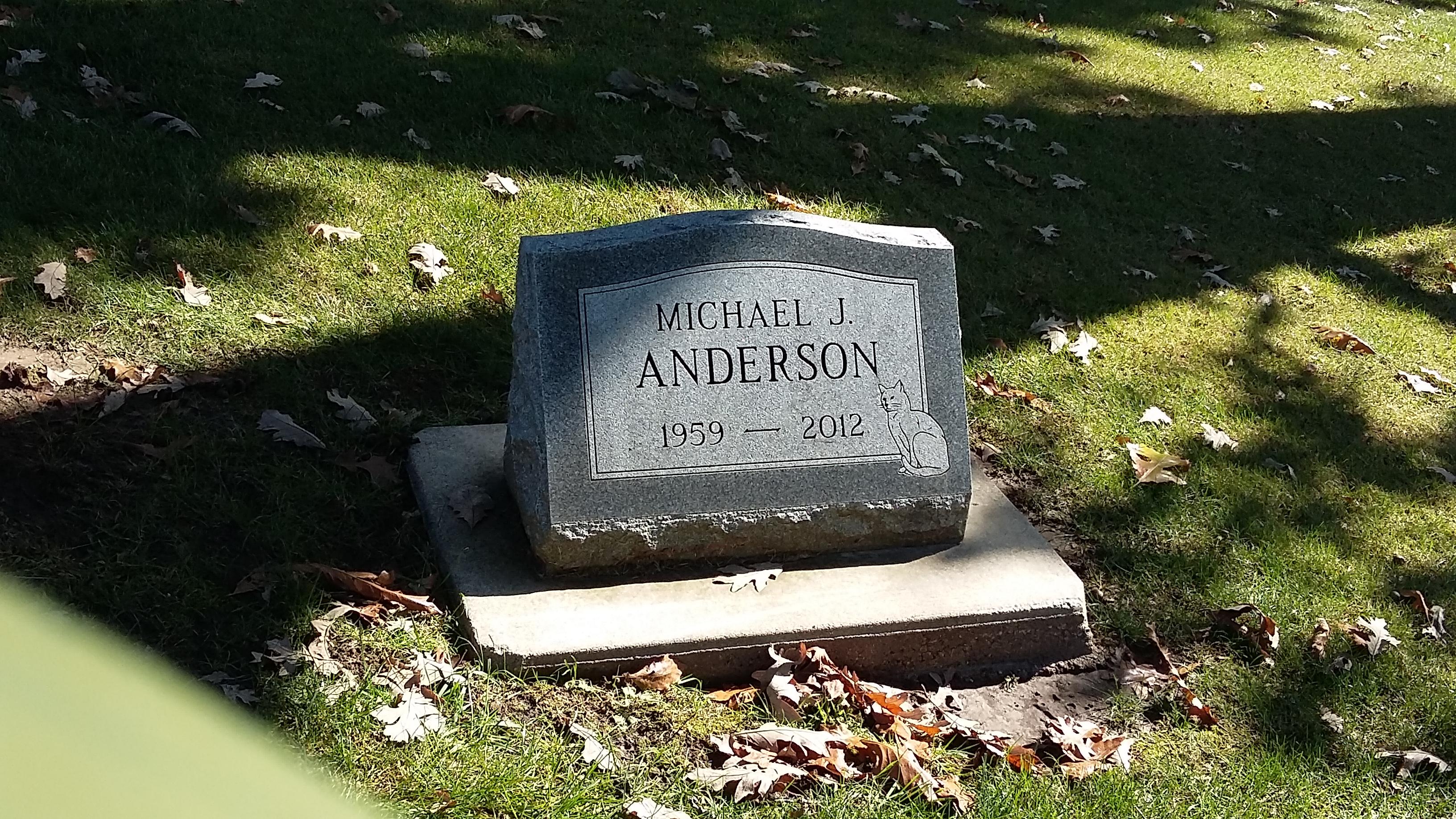 Michael James Anderson