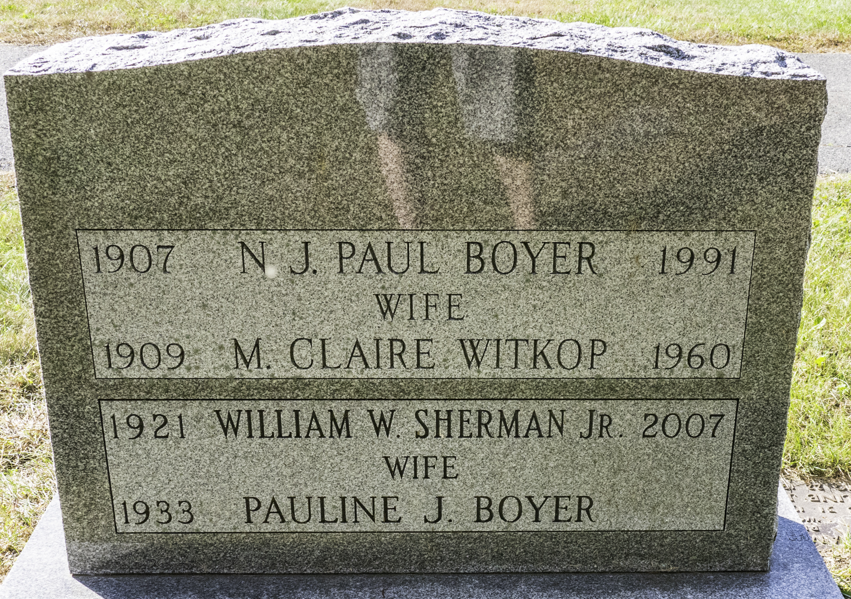 Claire <i>Witkop</i> Boyer