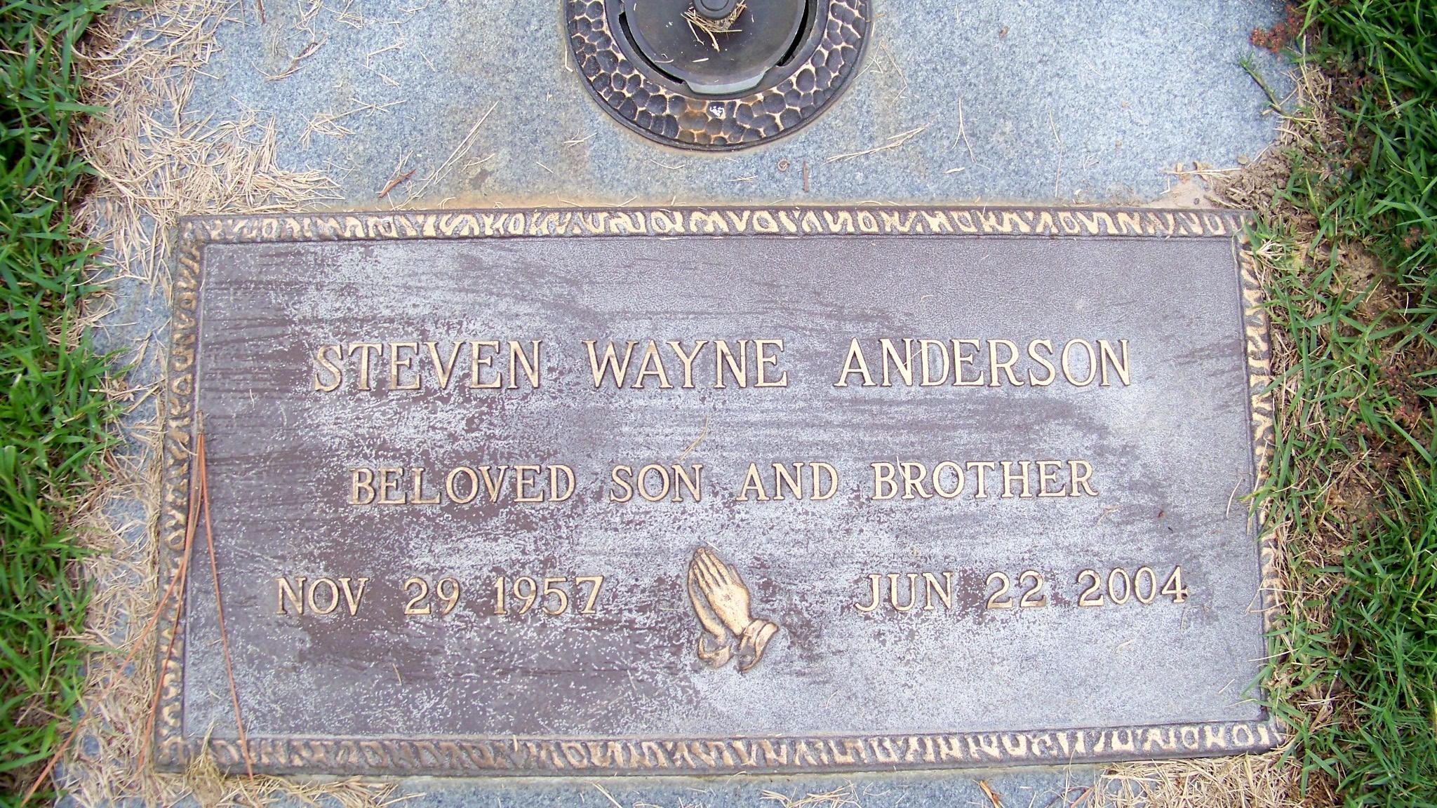 Steven Wayne Anderson