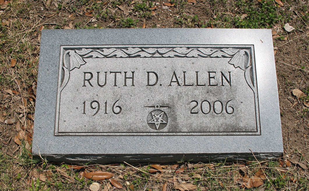 Ruth Dean <i>Holtsclaw</i> Allen
