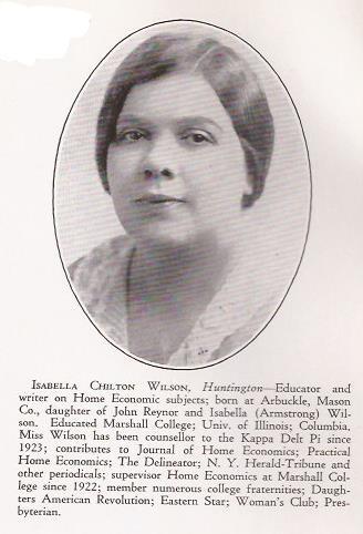 Isabella Chilton Wilson