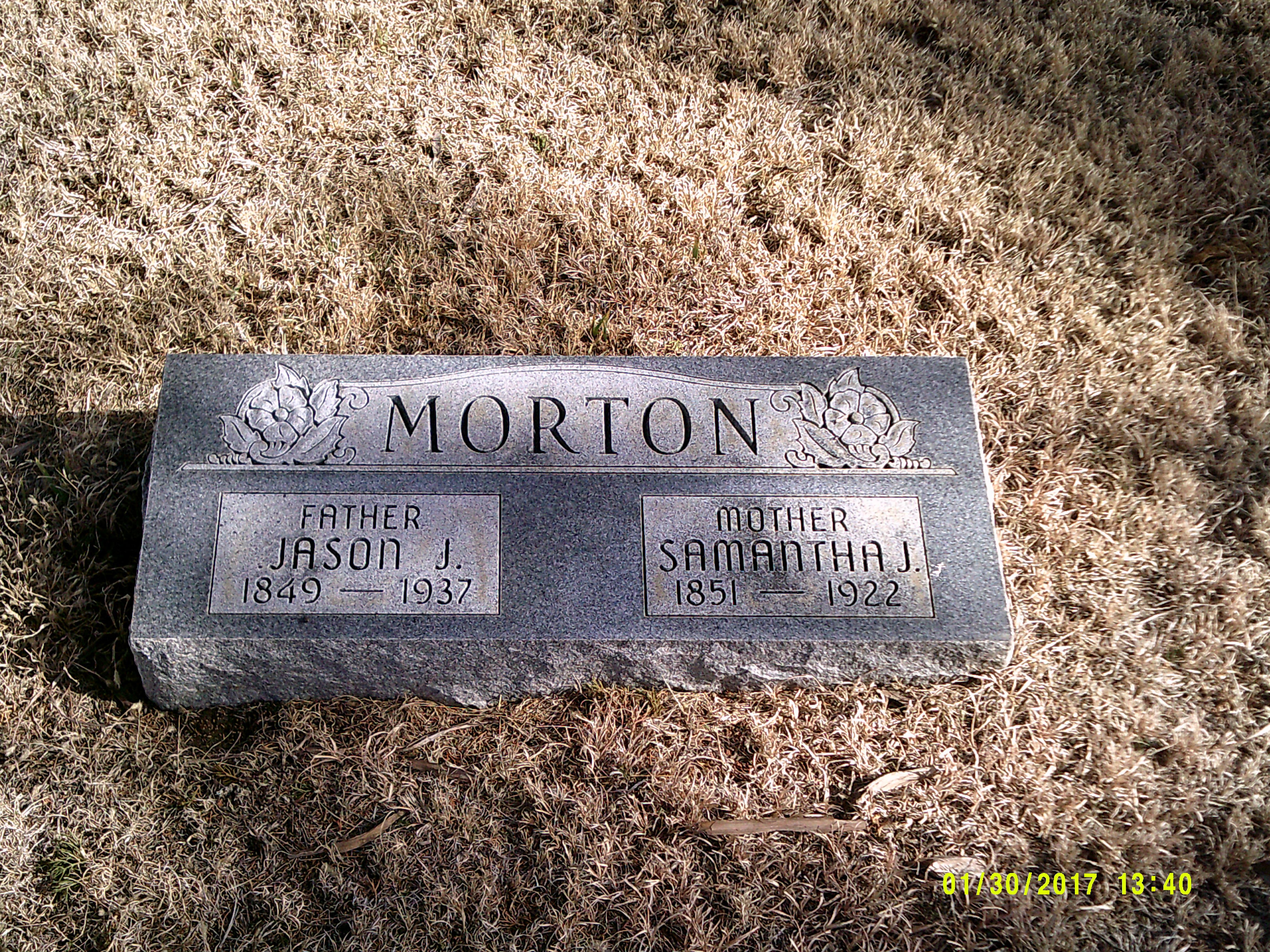Samantha Jane <i>Van Horn</i> Morton