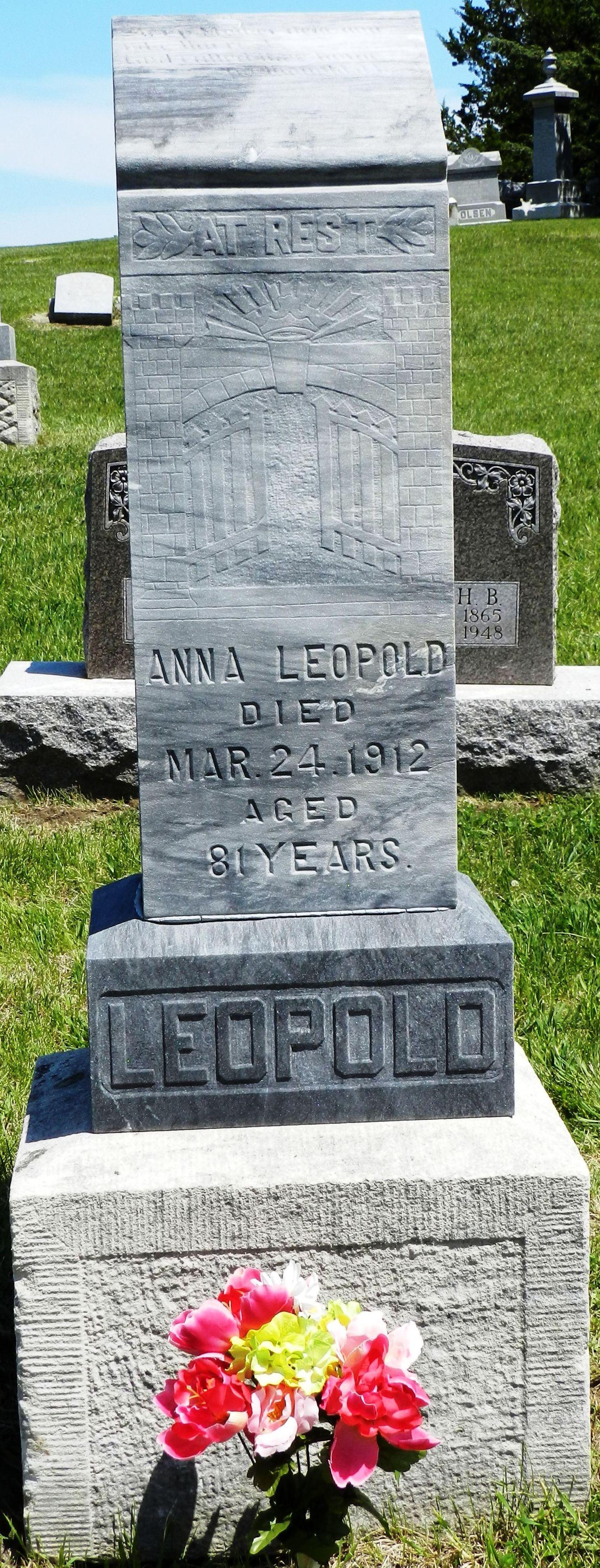 Anna <i>Schramm</i> Leopold