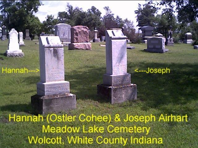Hannah B. <i>Ostler Cohee</i> Airhart