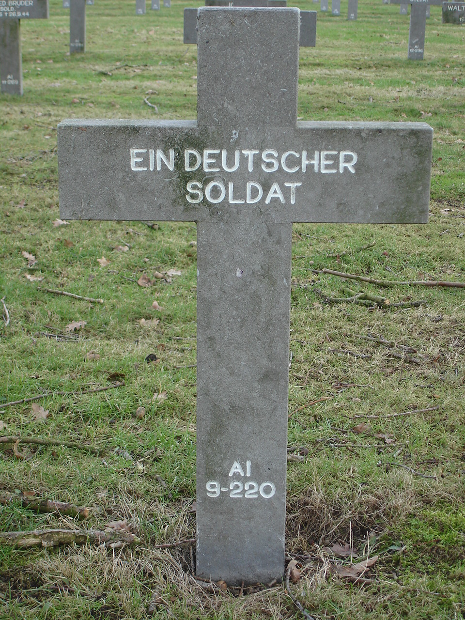 Ai Ein Deutscher Soldat  Find A Grave Memorial