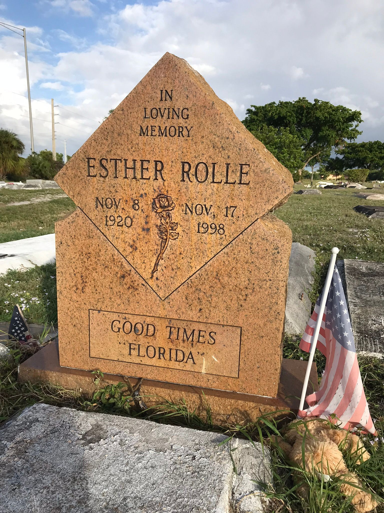 Esther Rolle 1920 1998 Find A Grave Memorial