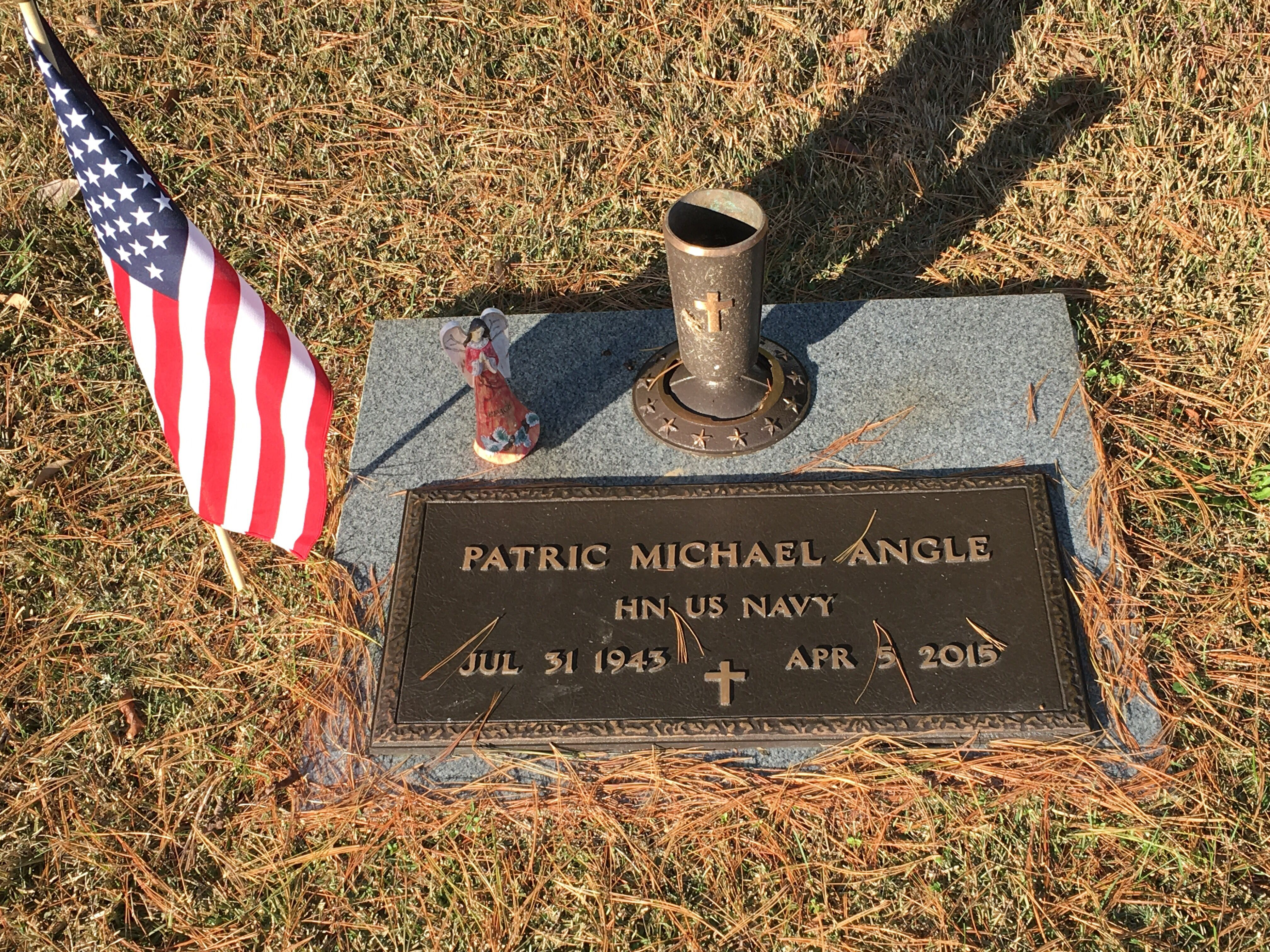 Patric Michael Angle (1943-2015) - Find A Grave Memorial