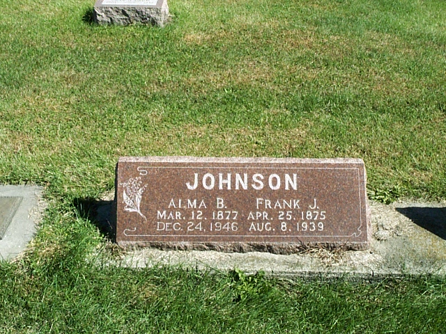 Alma B <i>Bruington</i> Johnson