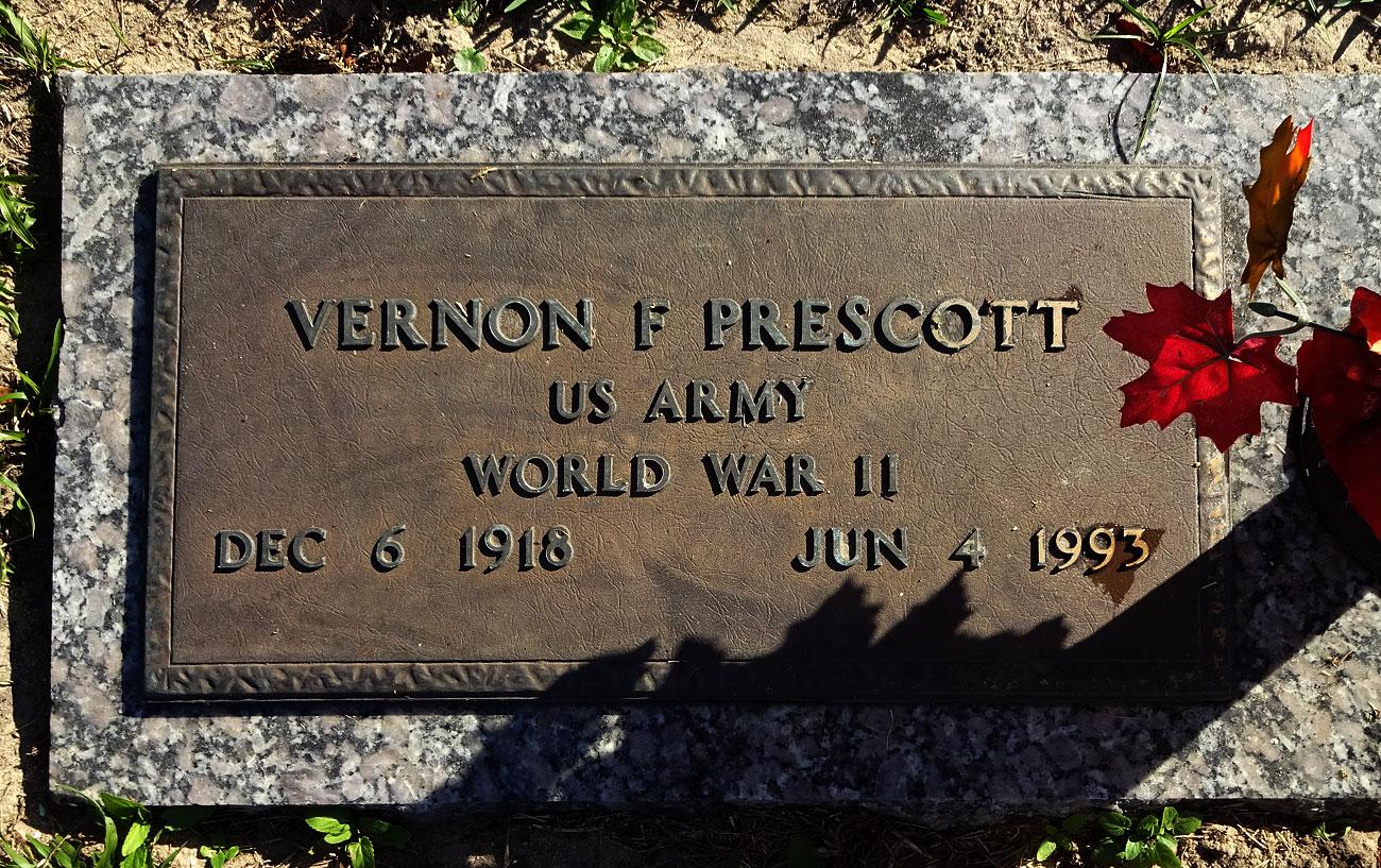 Vernon F Prescott (1918-1993) - Find A Grave Memorial