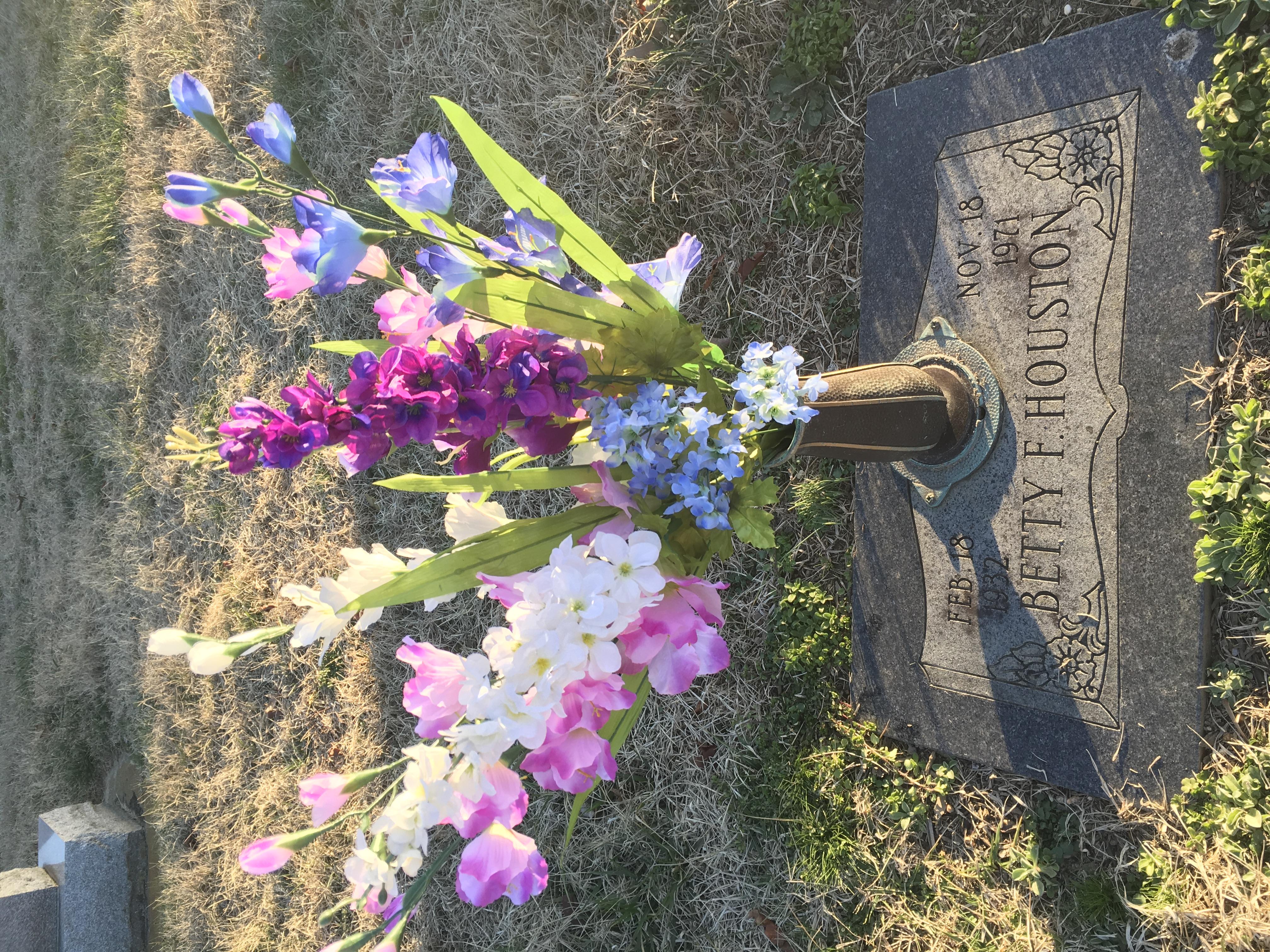 Betty ann betty frith houston 1932 1971 find a grave memorial birthday flowers izmirmasajfo