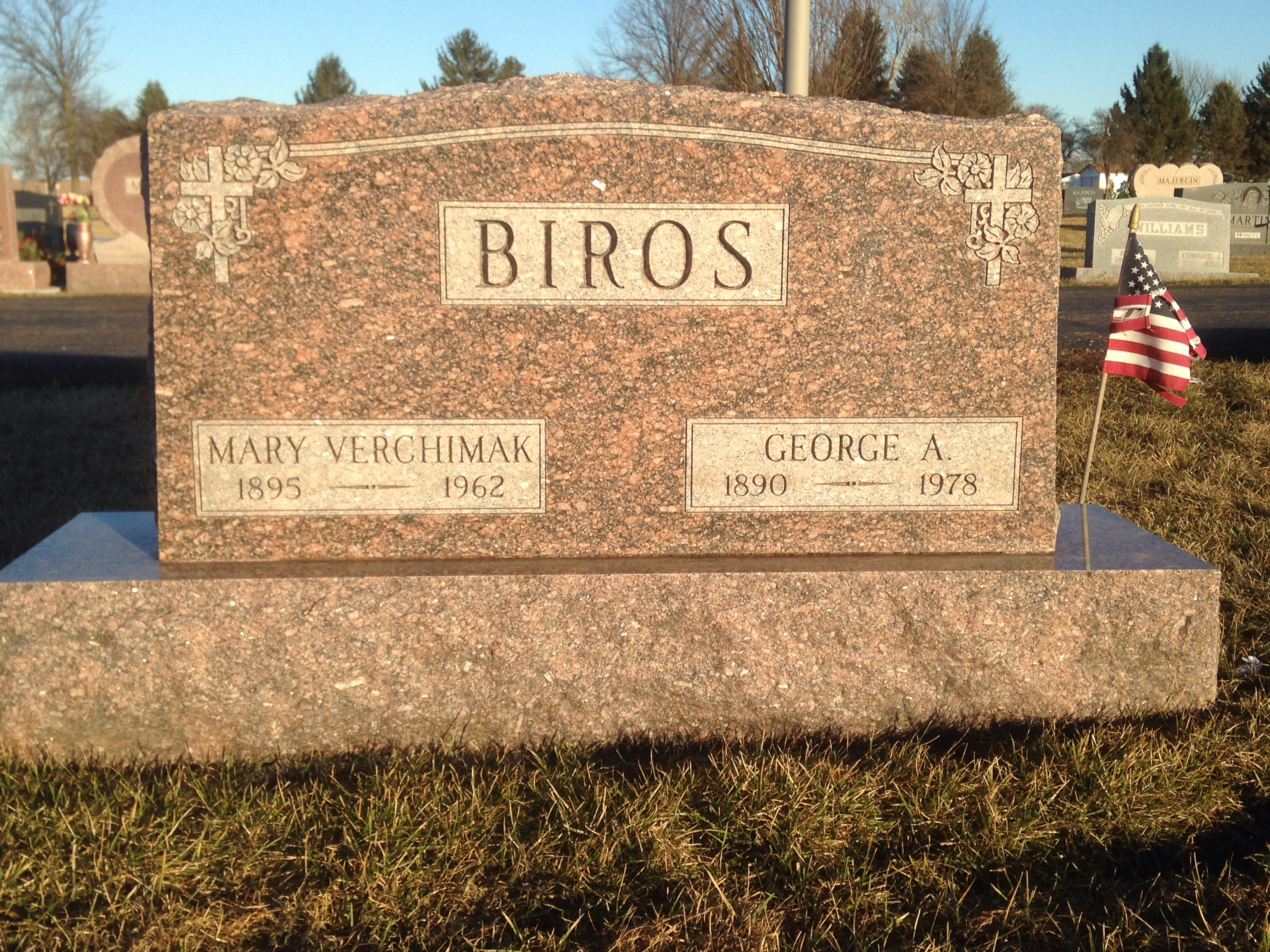 Mary C. <i>Verchimak</i> Biros