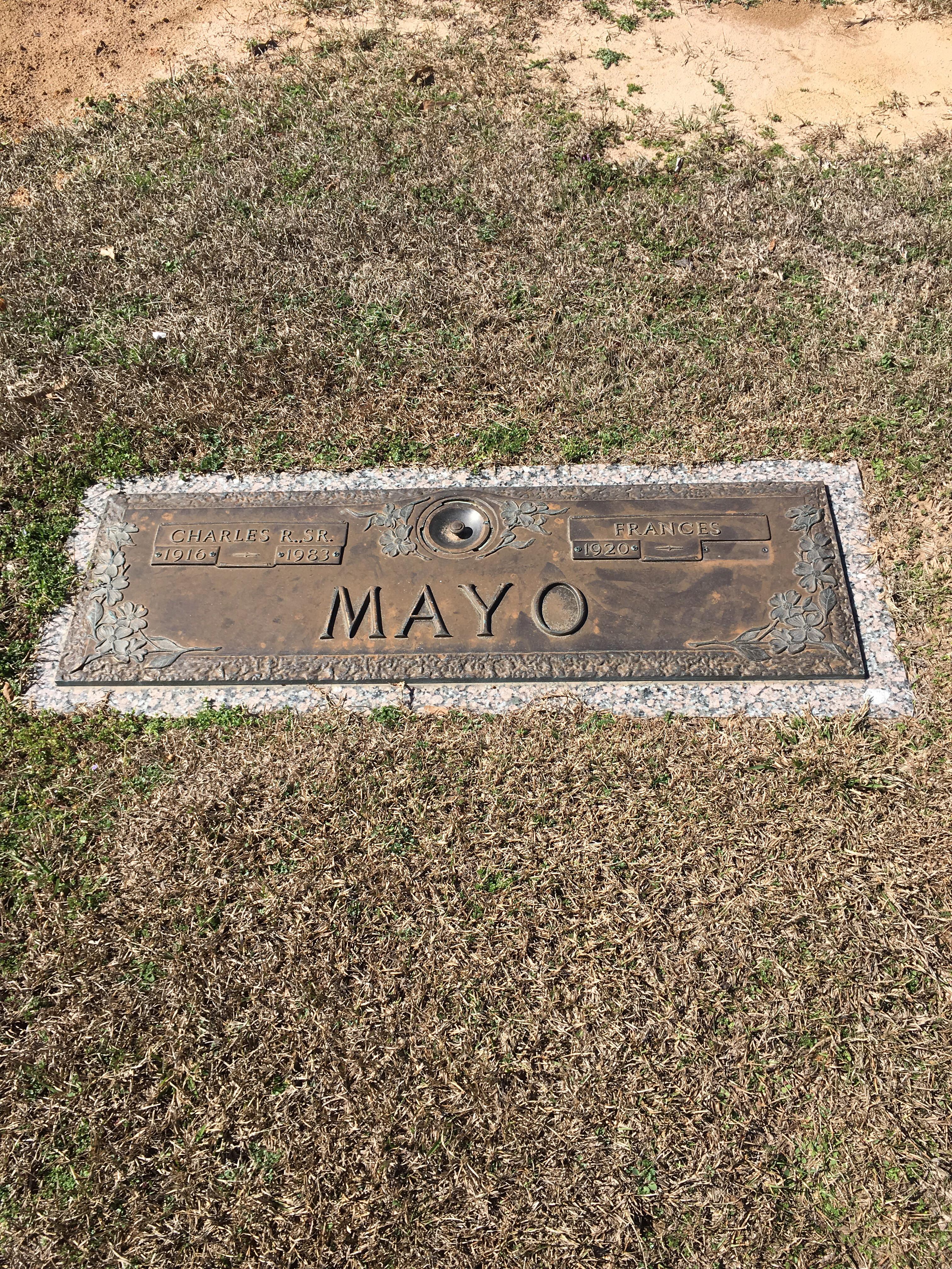 Frances <i>Anderson</i> Mayo