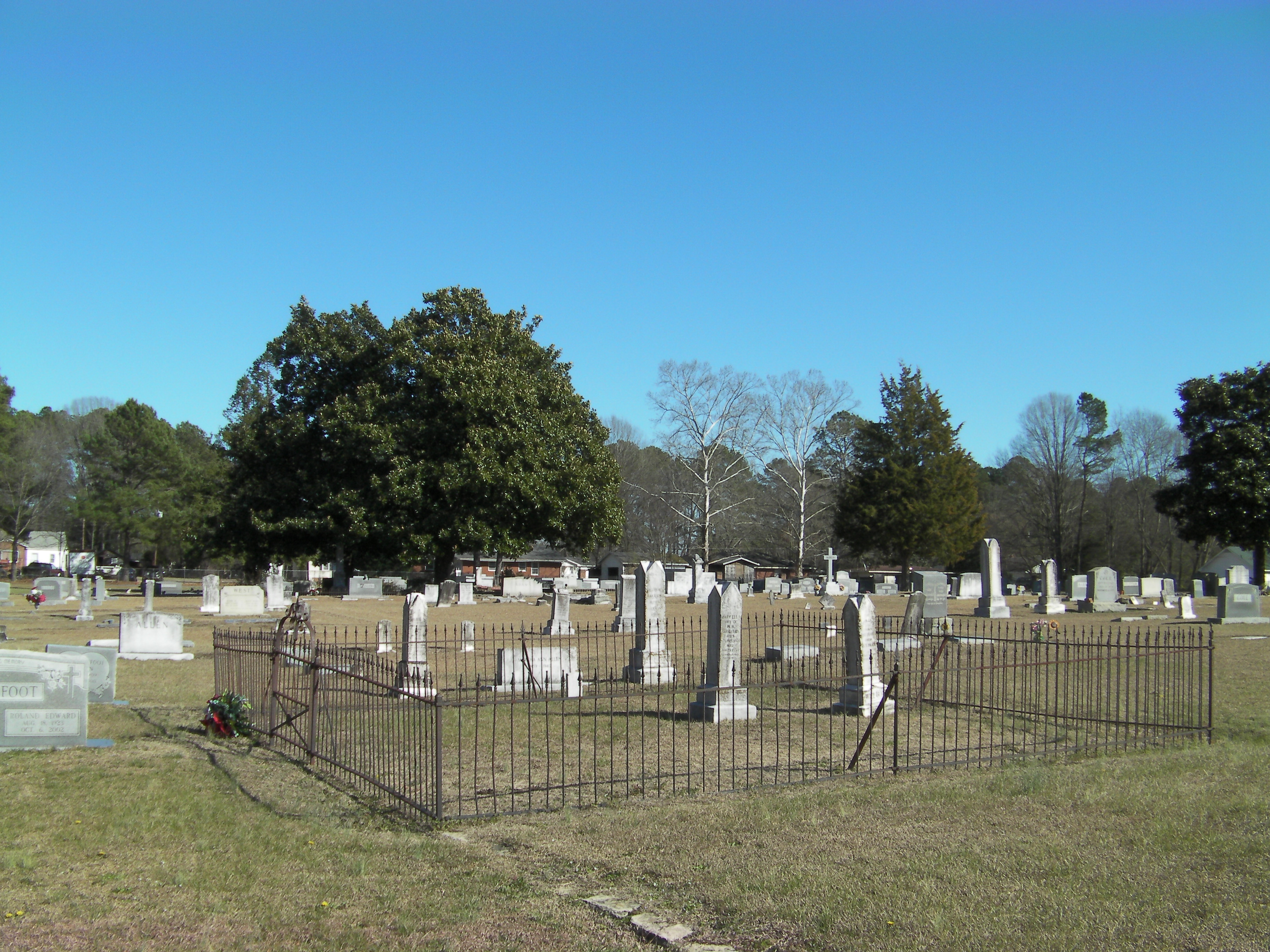 Town of Four Oaks Cemetery